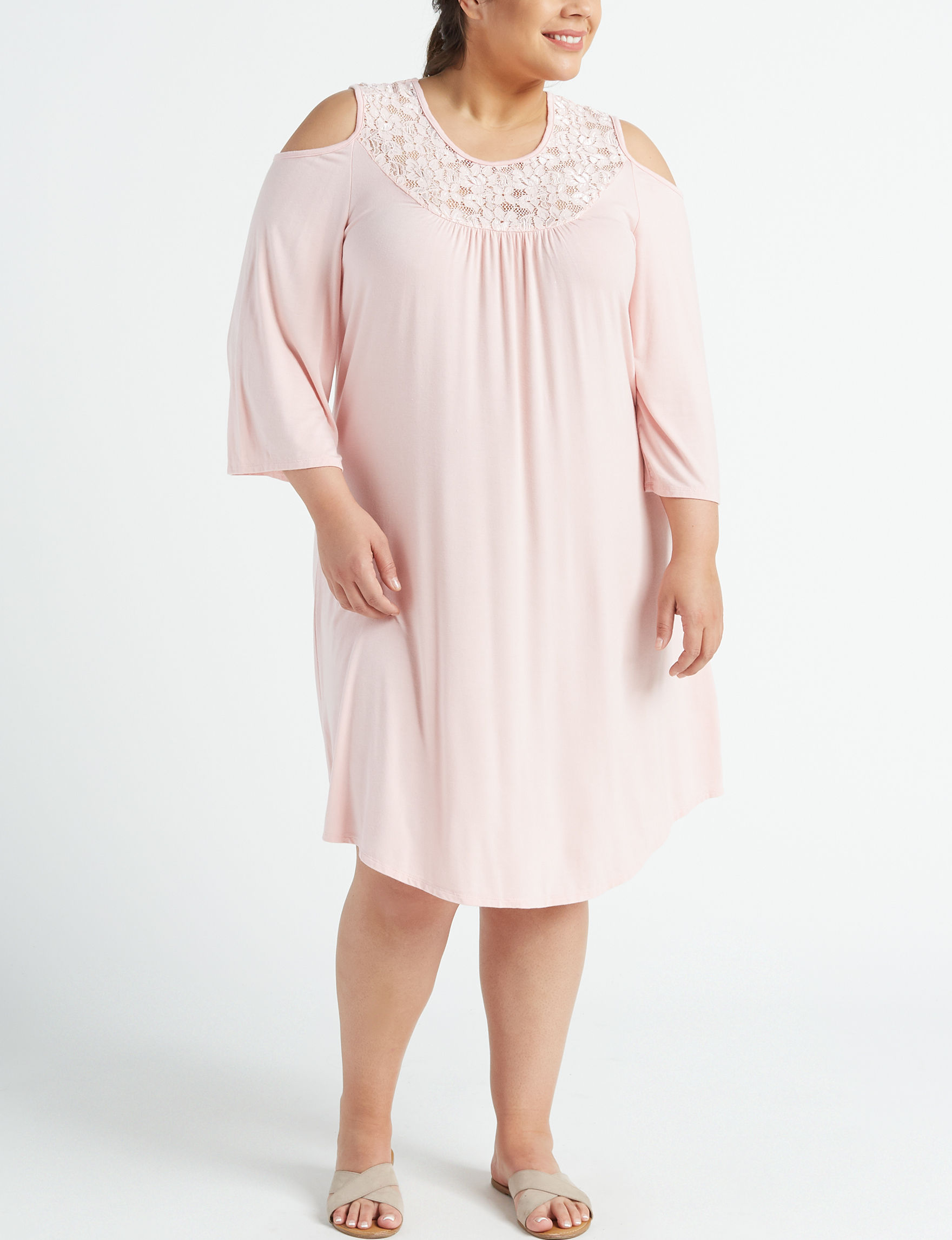 Wishful Park Pink Everyday & Casual Shift Dresses