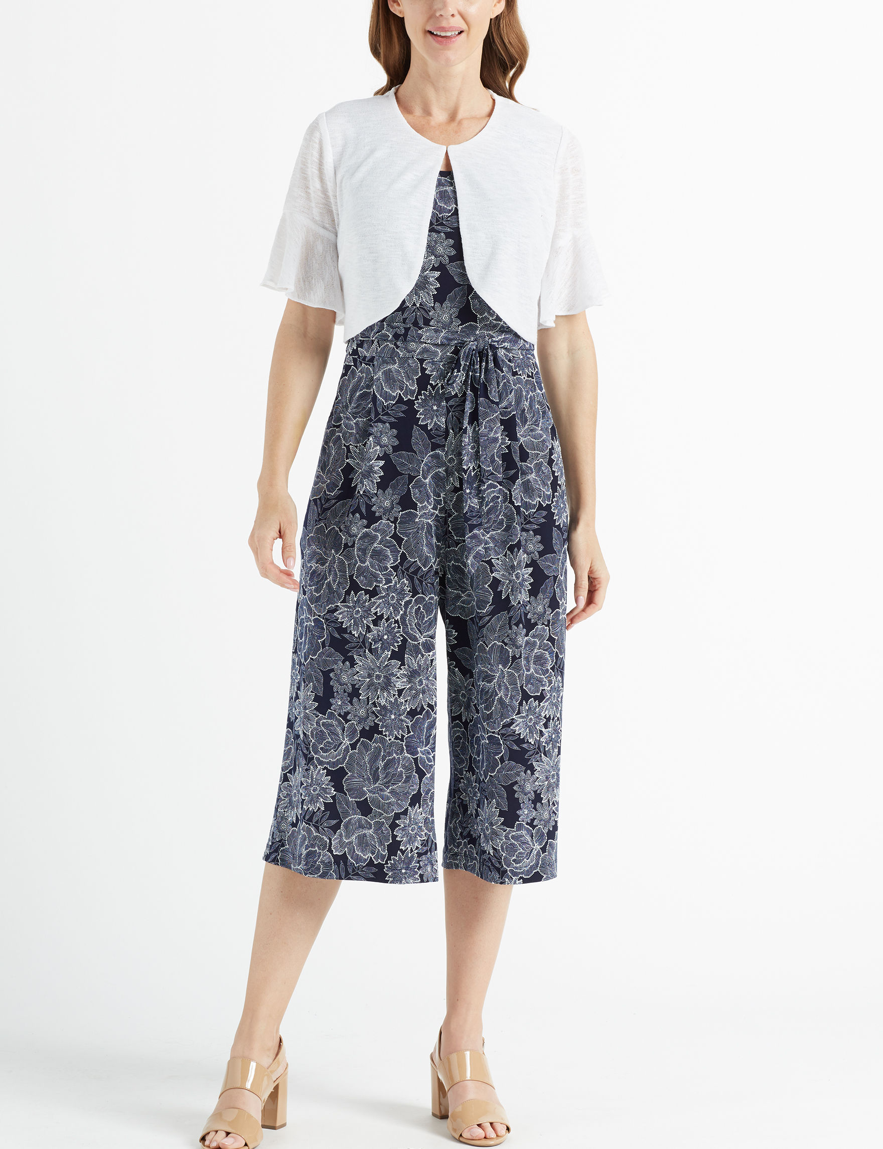 Perceptions Navy / White Everyday & Casual