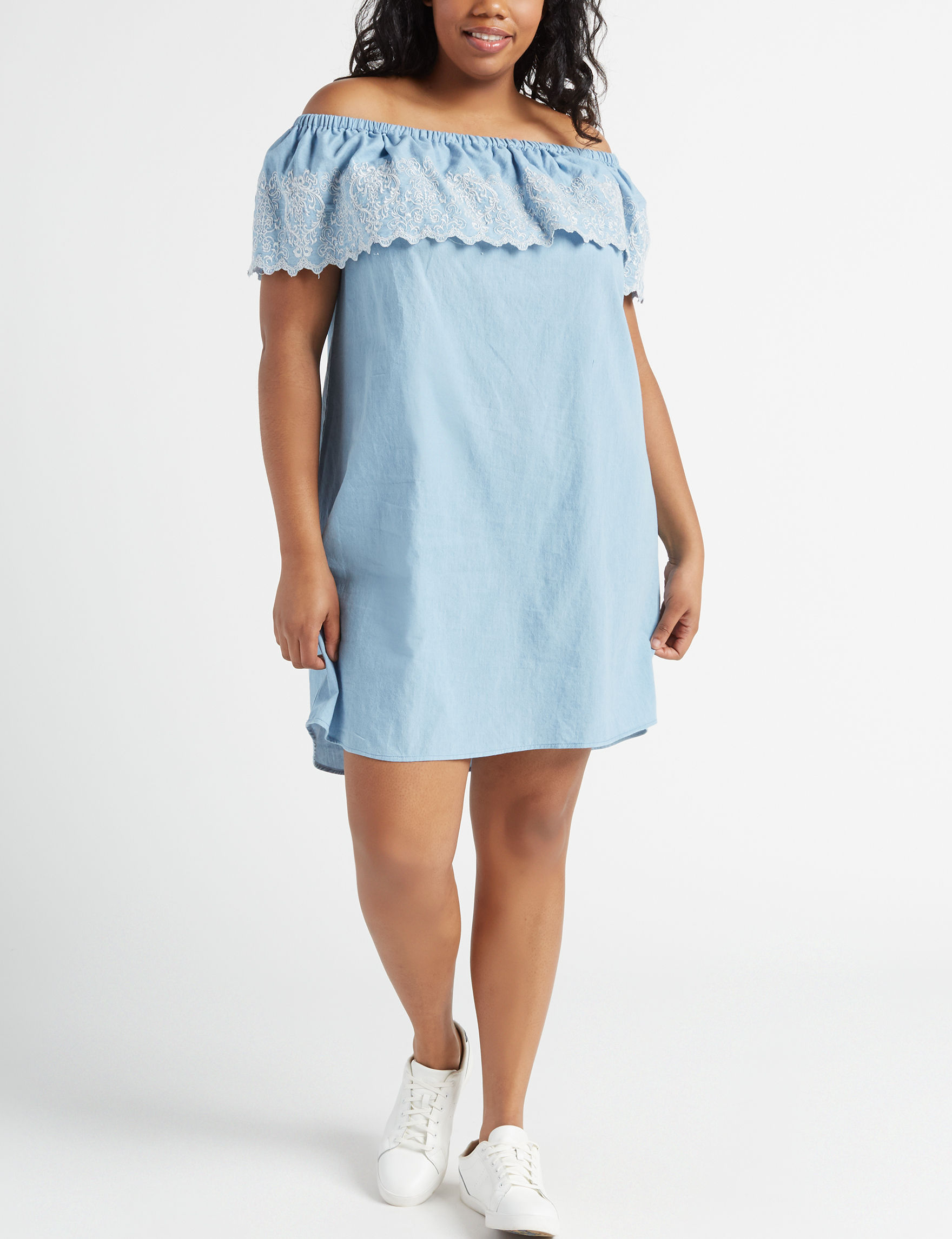 Wishful Park Blue Everyday & Casual Shift Dresses