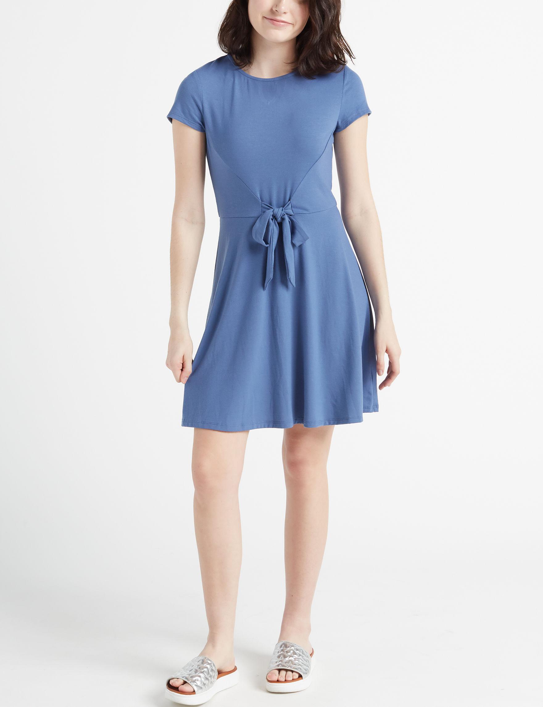 BeBop Dark Blue Everyday & Casual Shift Dresses