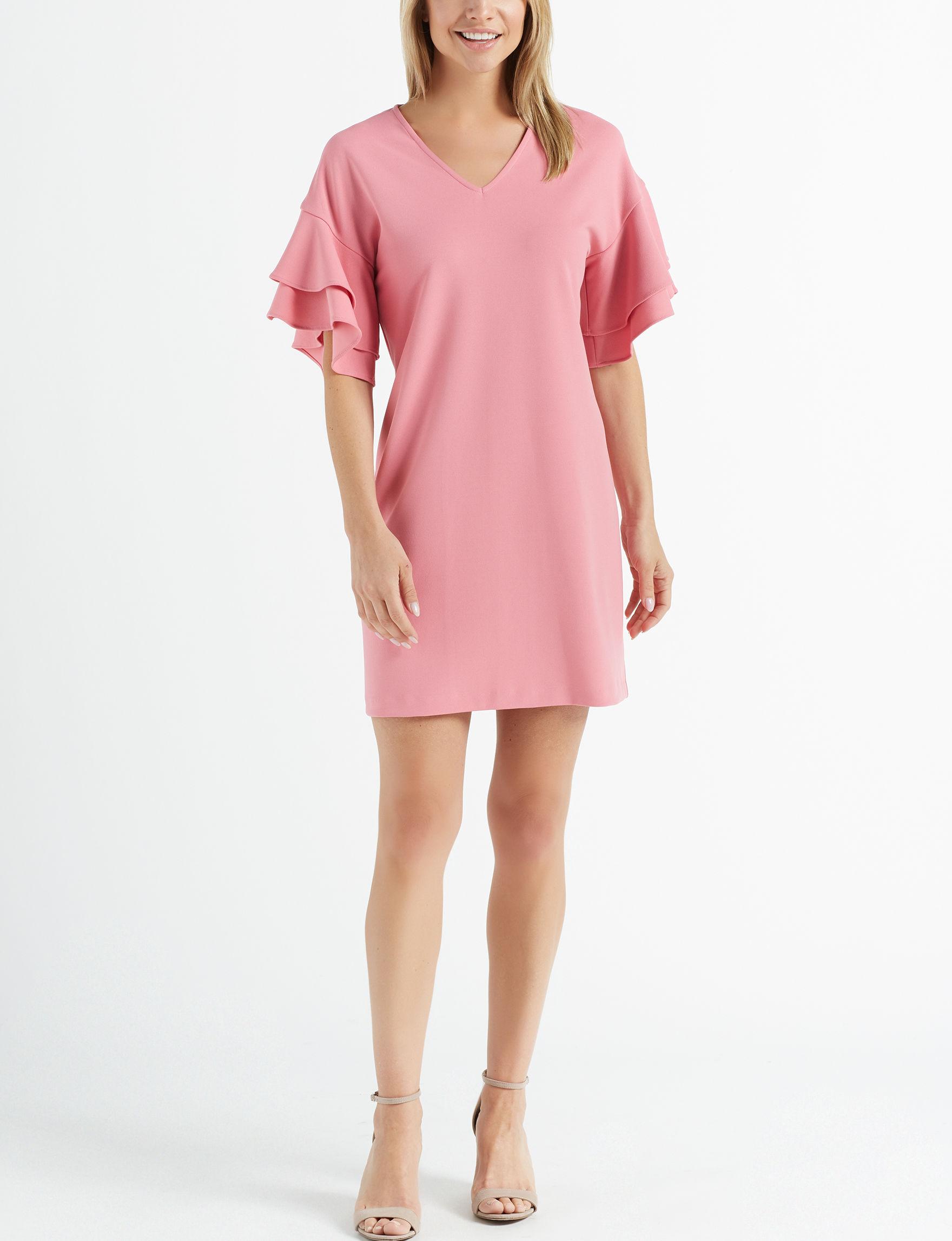 Nina Leonard Rose Everyday & Casual Shift Dresses