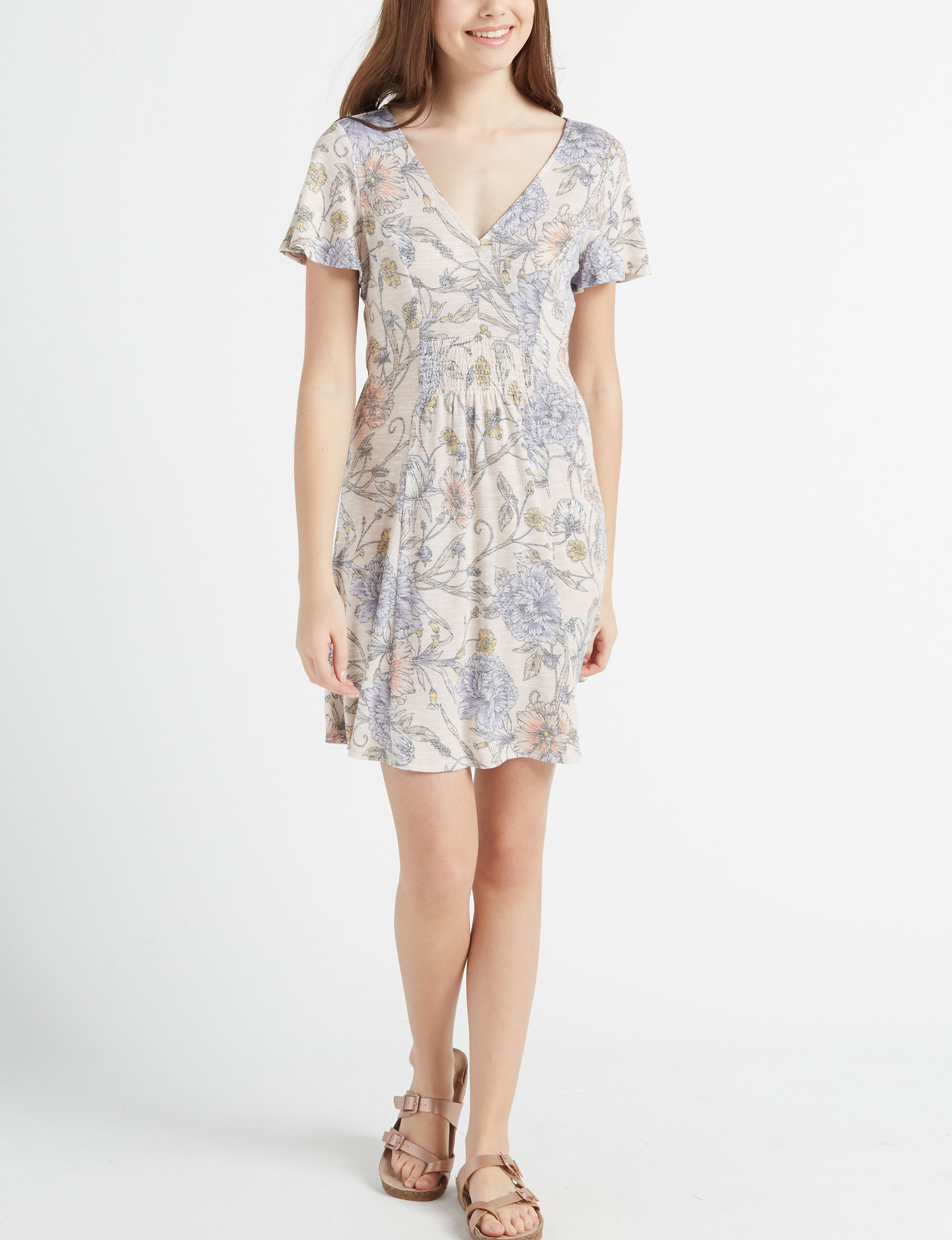 Love Fire Coral Everyday & Casual Shift Dresses