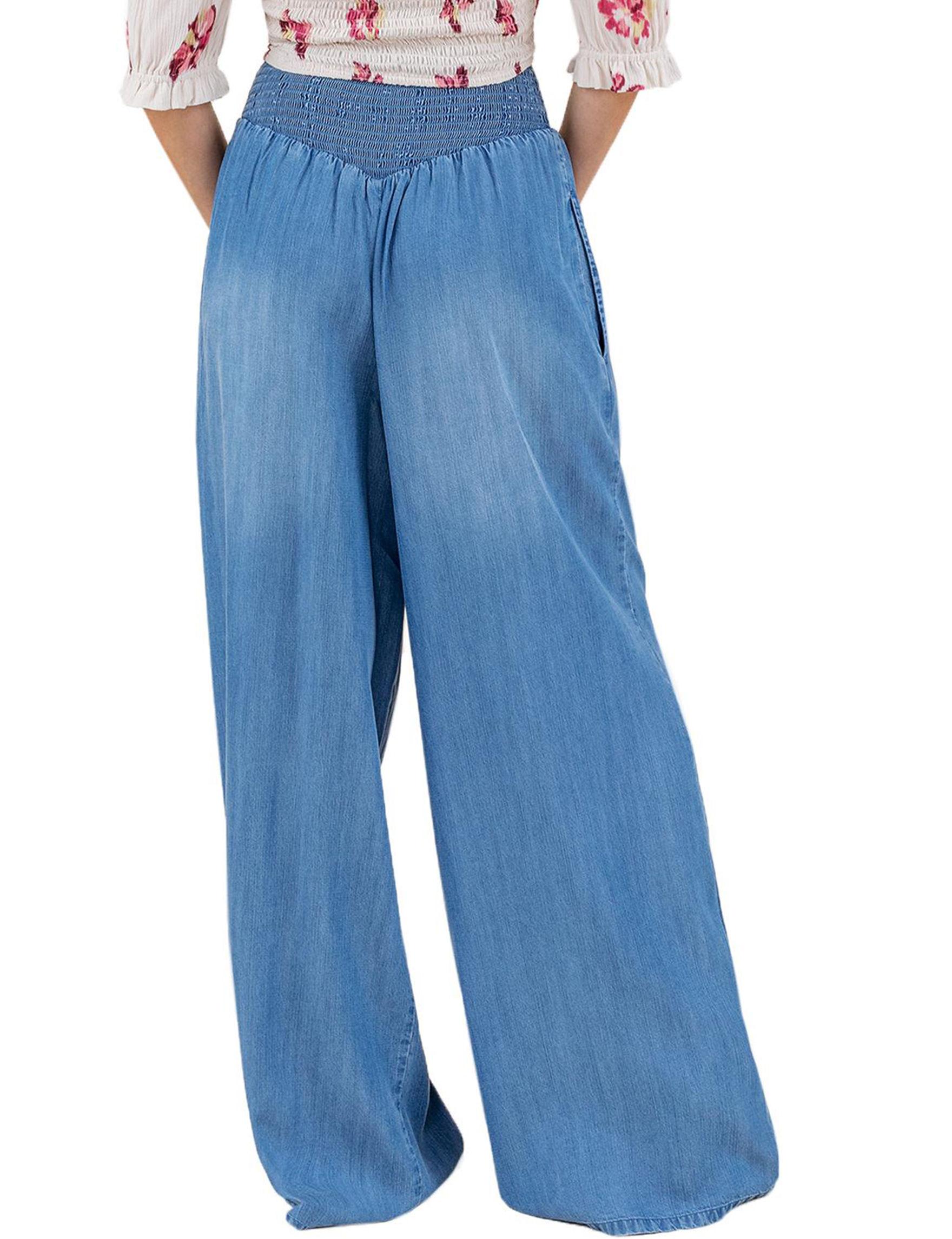 C + J Collections Blue Soft Pants