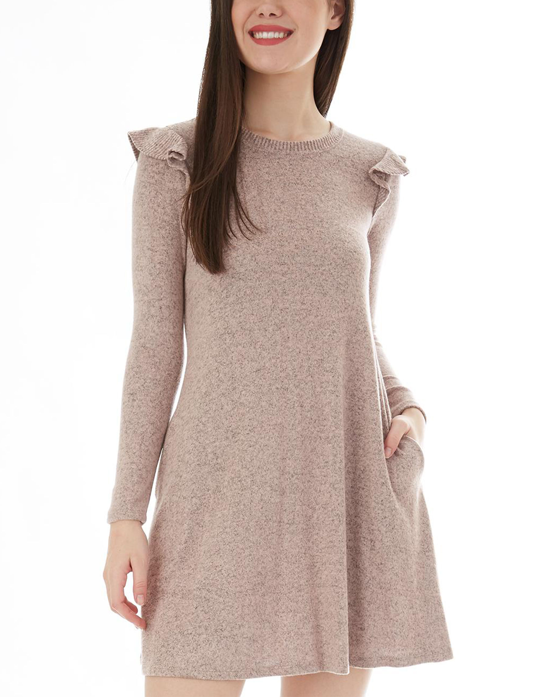 A. Byer Rose Everyday & Casual Sheath Dresses Sweater Dresses