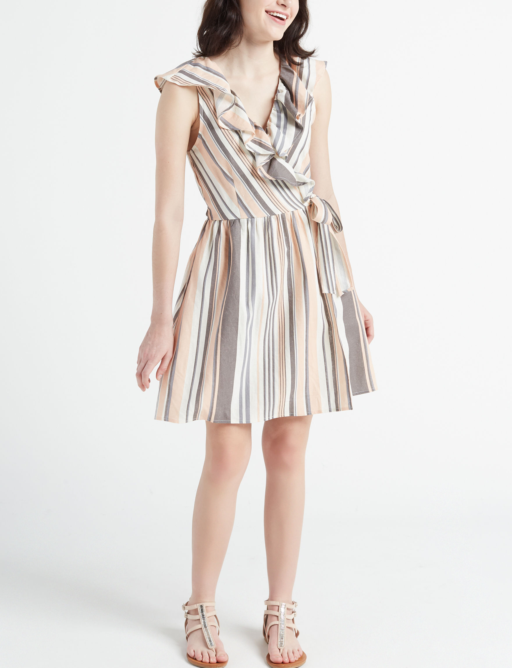 BeBop Charcoal Everyday & Casual Fit & Flare Dresses