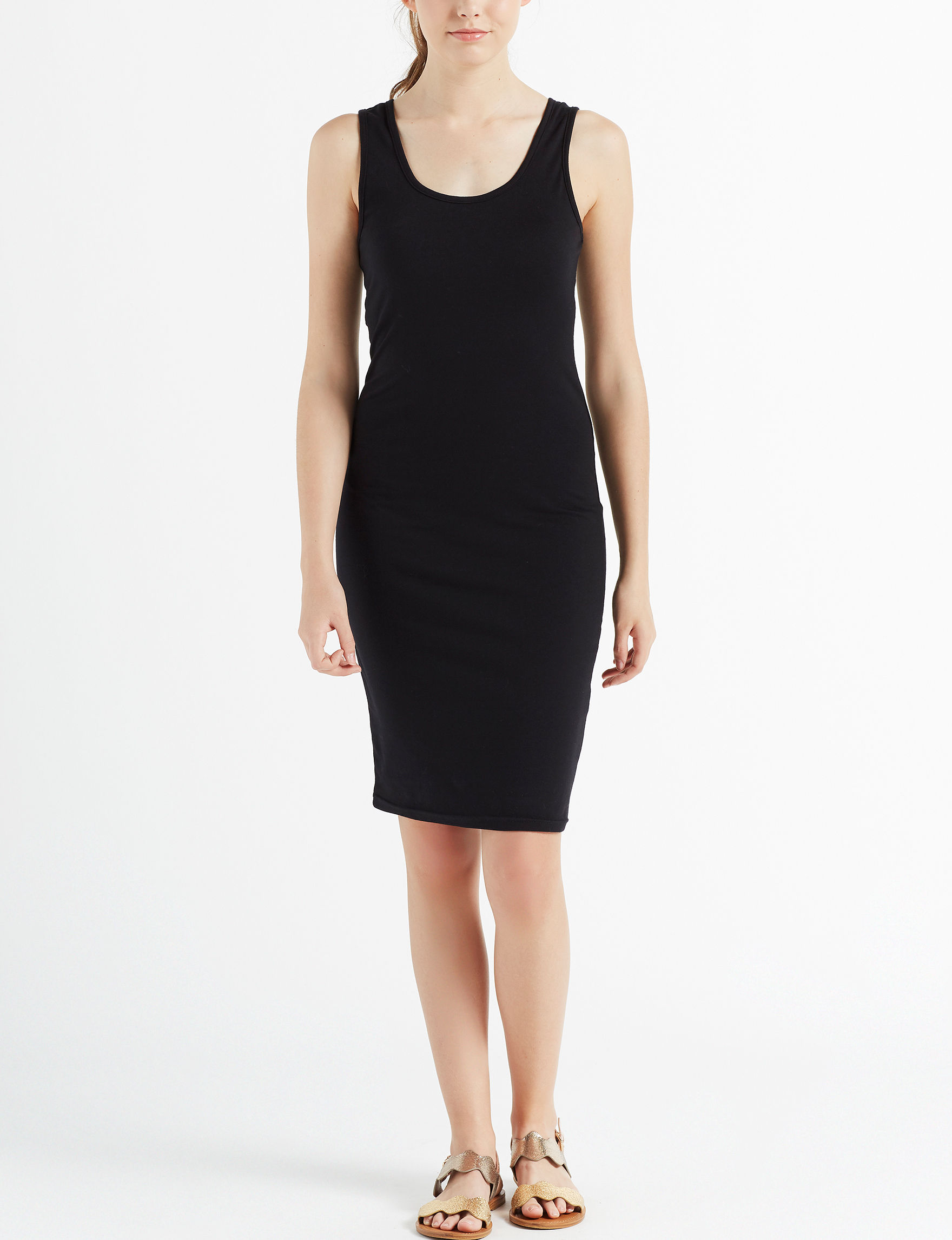 Wishful Park Black Everyday & Casual Bodycon Dresses