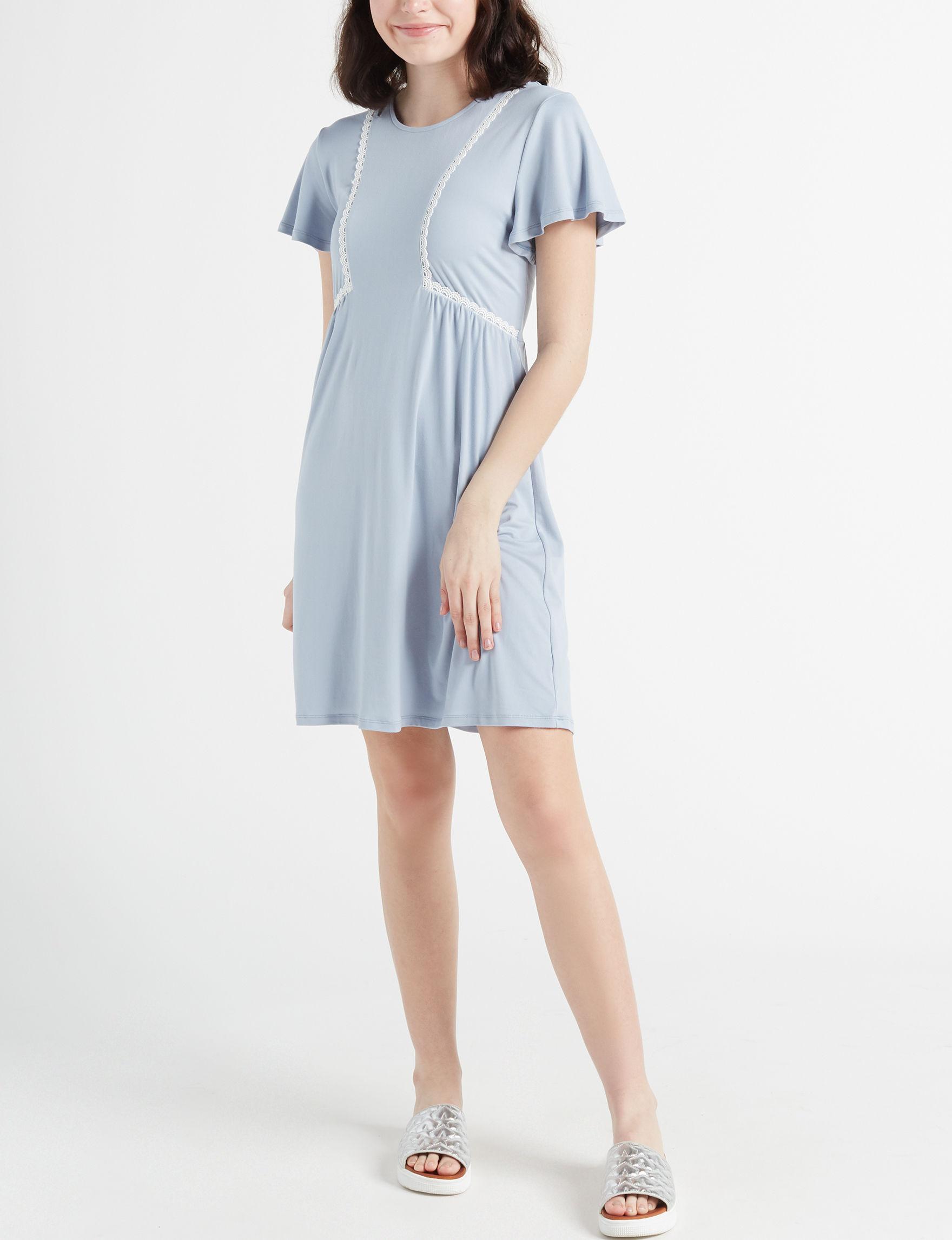Trixxi Blue Everyday & Casual Shift Dresses