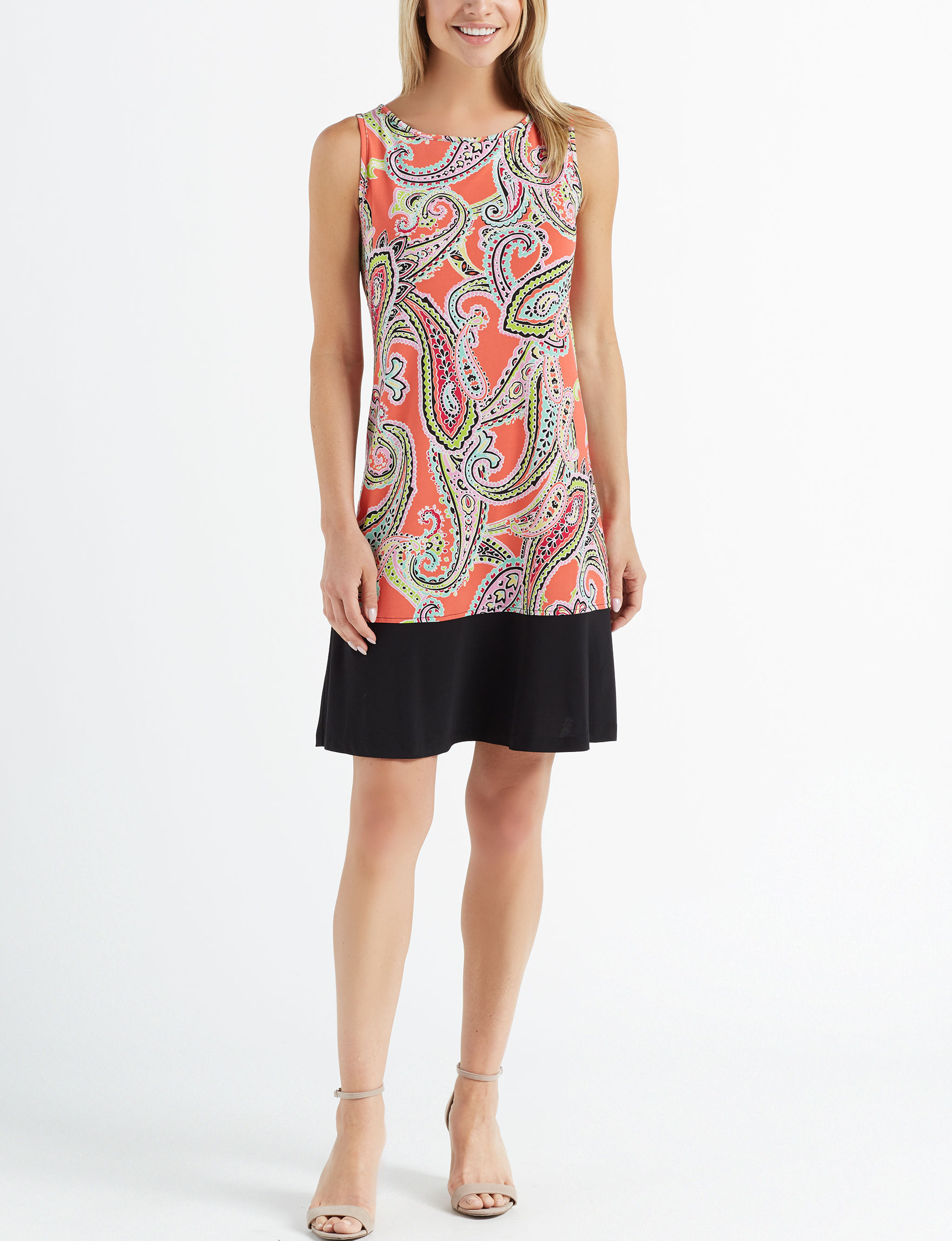Ronni Nicole Coral Everyday & Casual Shift Dresses