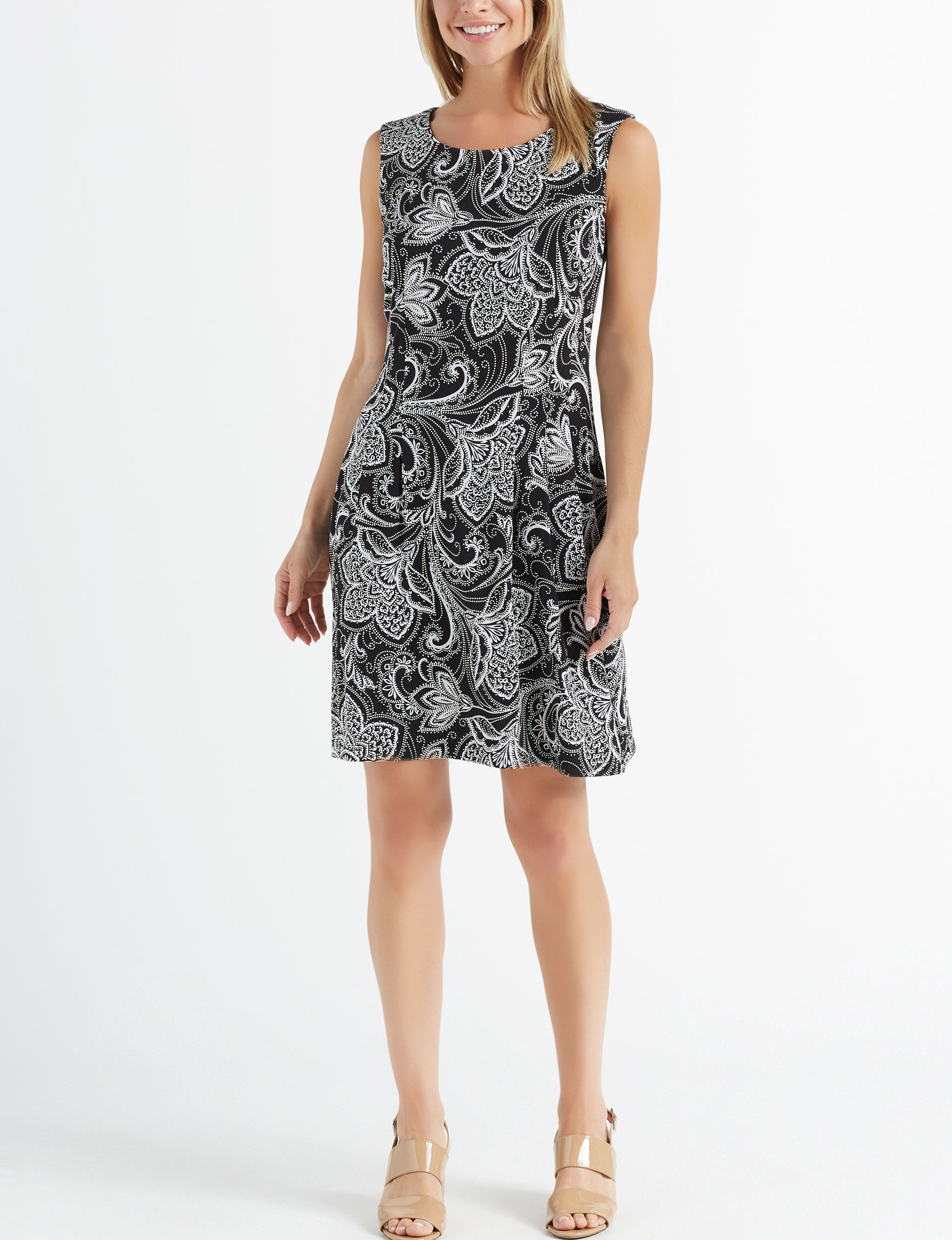 Connected Black Everyday & Casual A-line Dresses