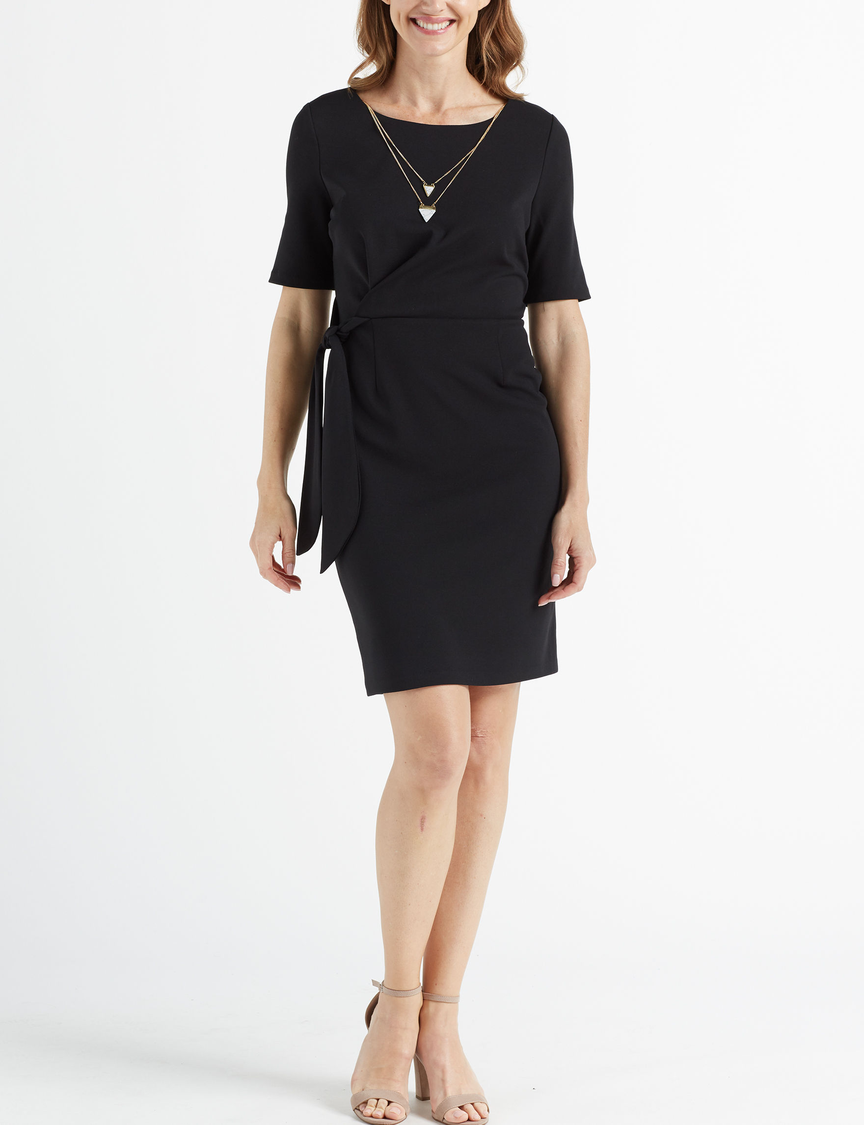 Glamour Black Everyday & Casual Sheath Dresses