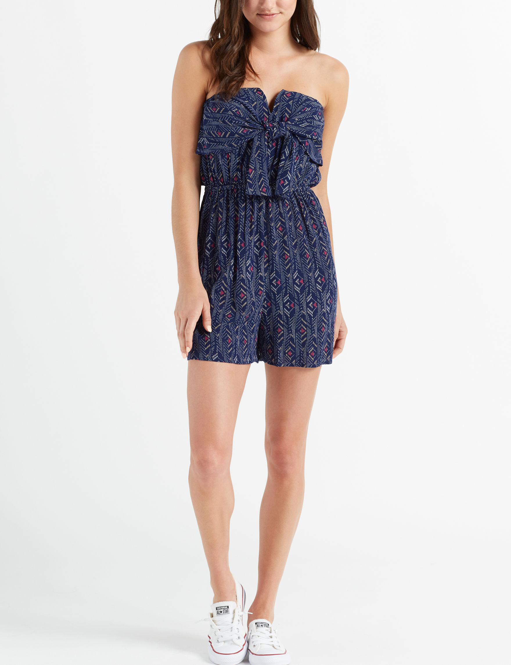 Wishful Park Navy Everyday & Casual Strapless