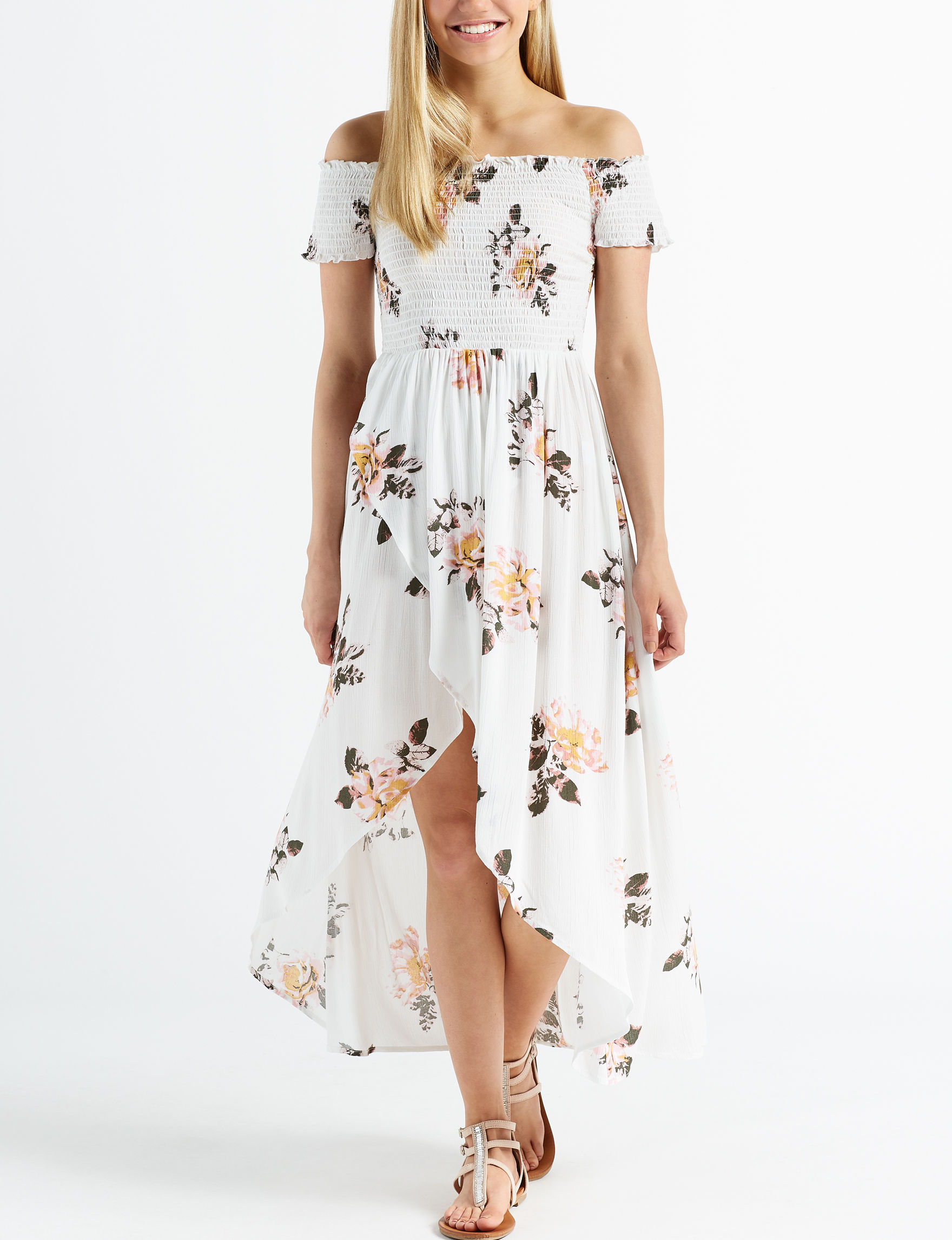 Wishful Park Ivory Floral Everyday & Casual