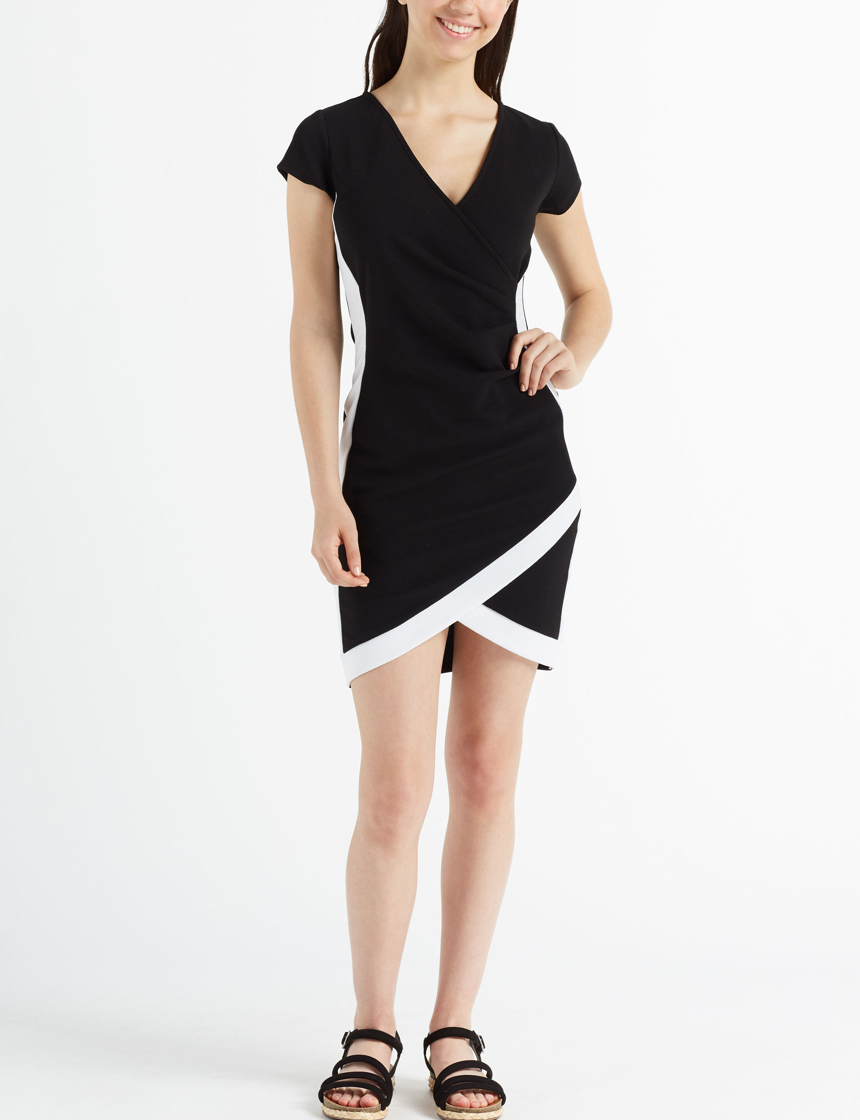 Almost Famous Black Cocktail & Party Bodycon Dresses