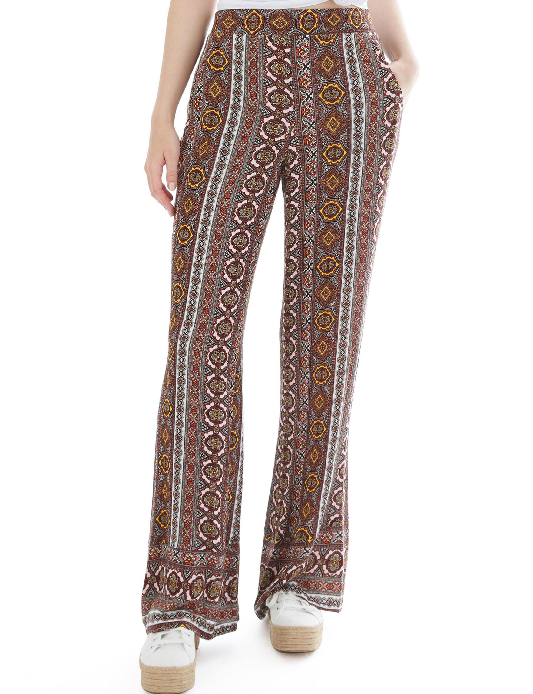 A. Byer Brown / Multi Soft Pants
