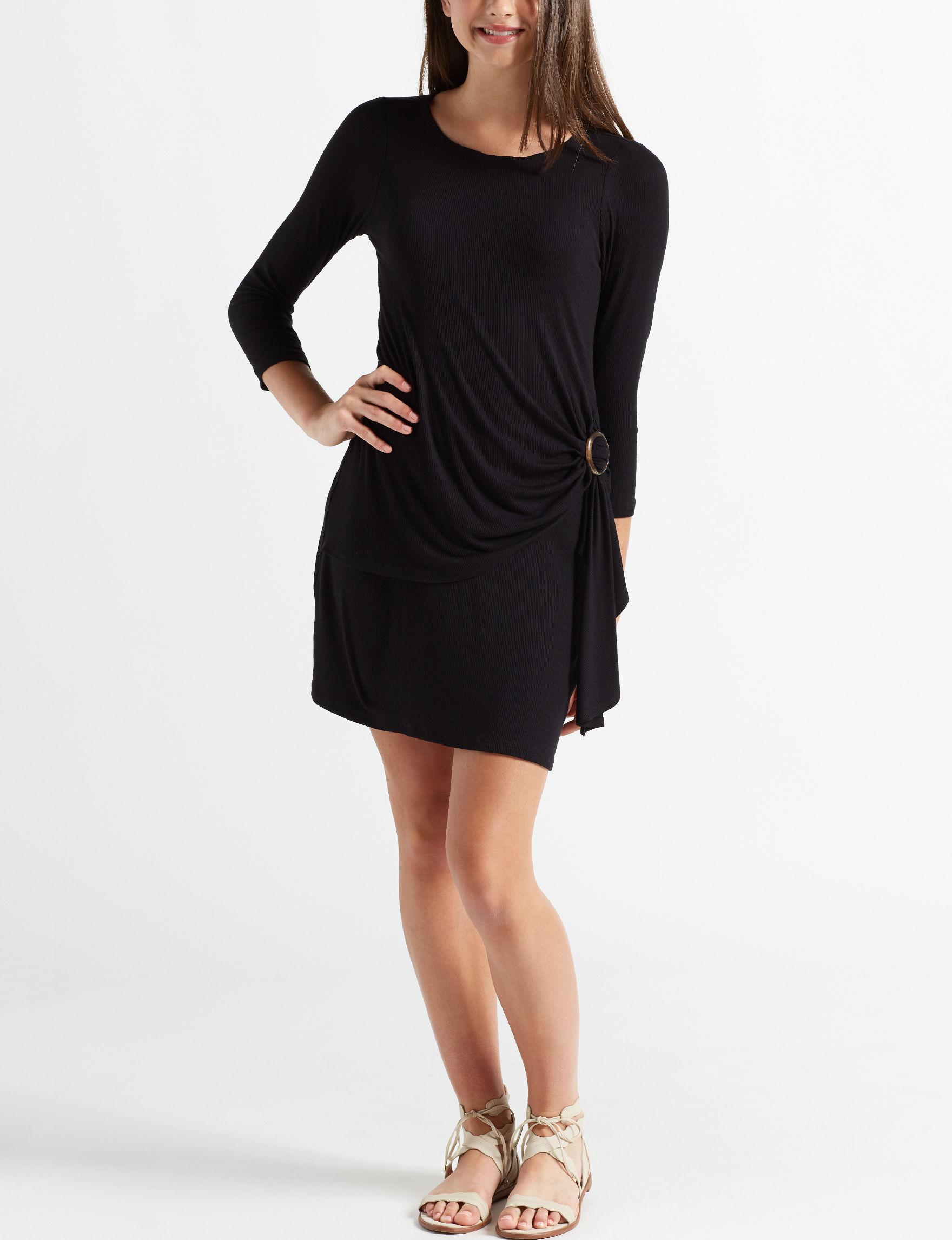 Trixxi Black Cocktail & Party Bodycon Dresses