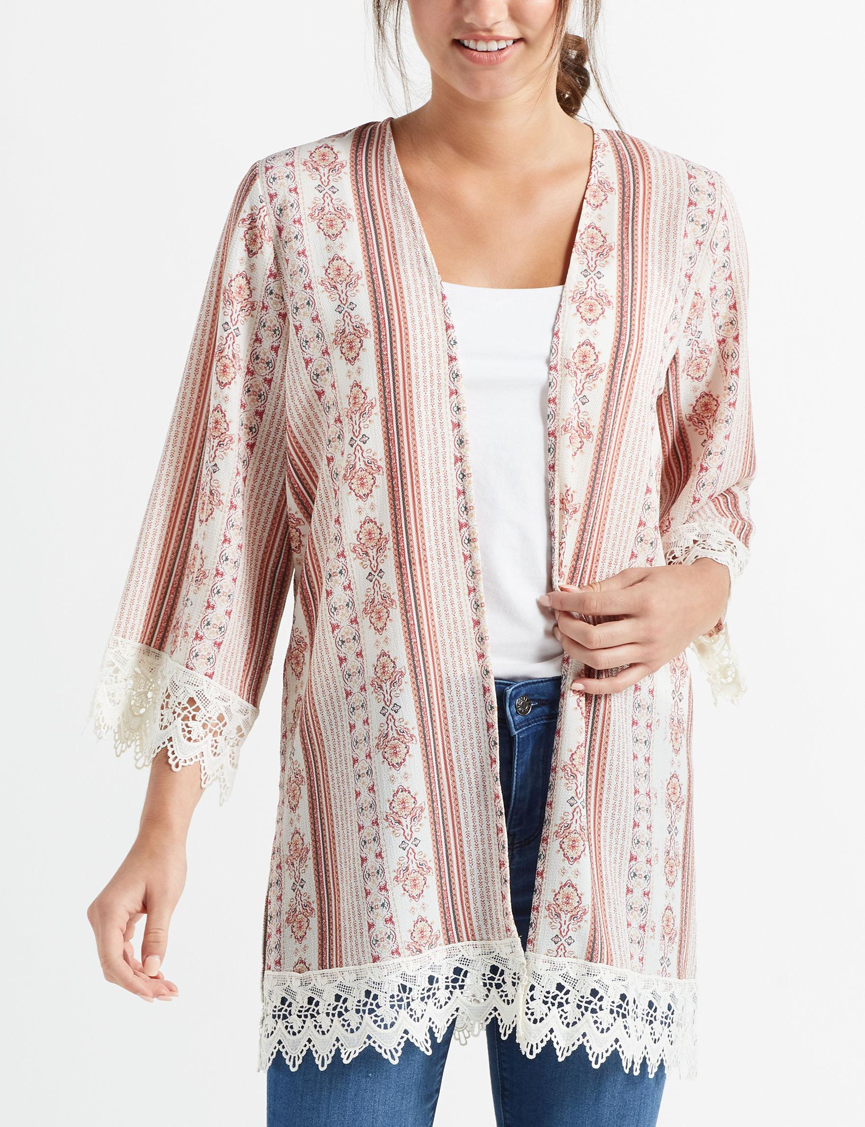 Leighton Ivory Kimonos & Toppers