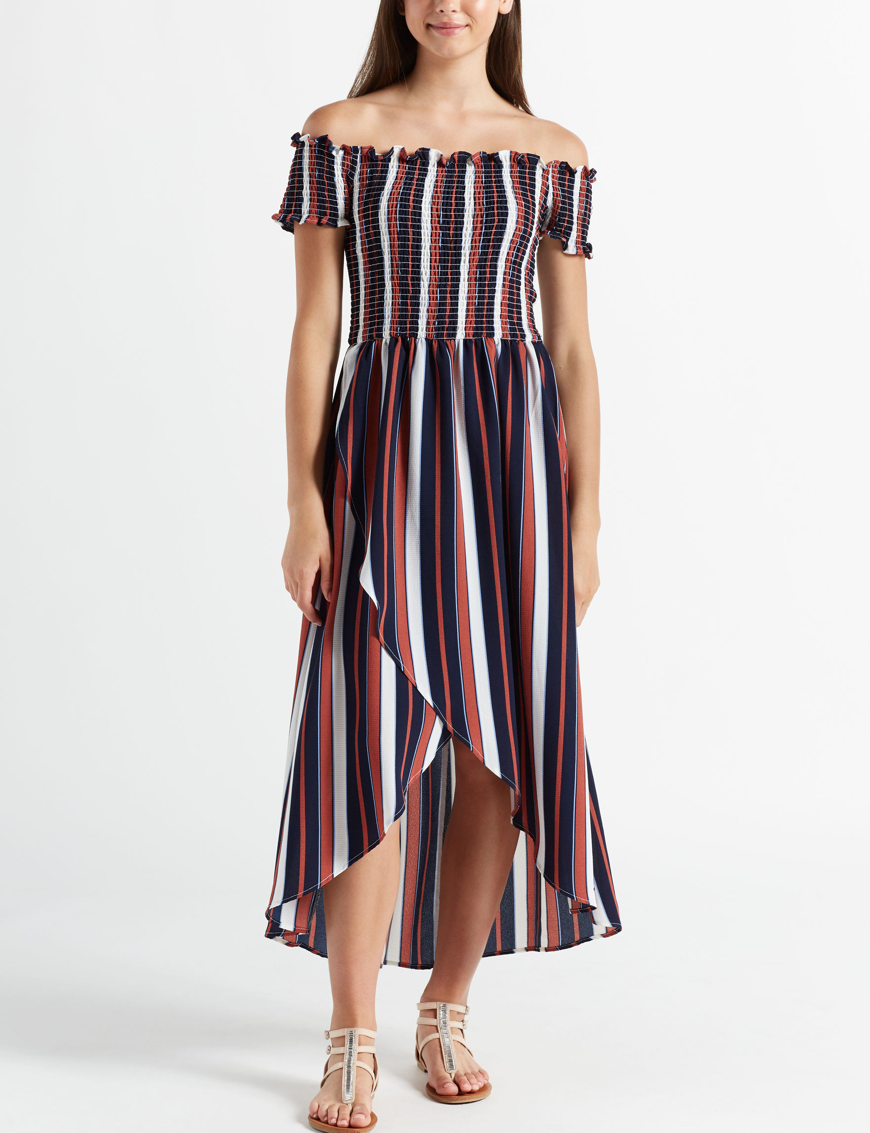 Wishful Park Navy Stripe Everyday & Casual