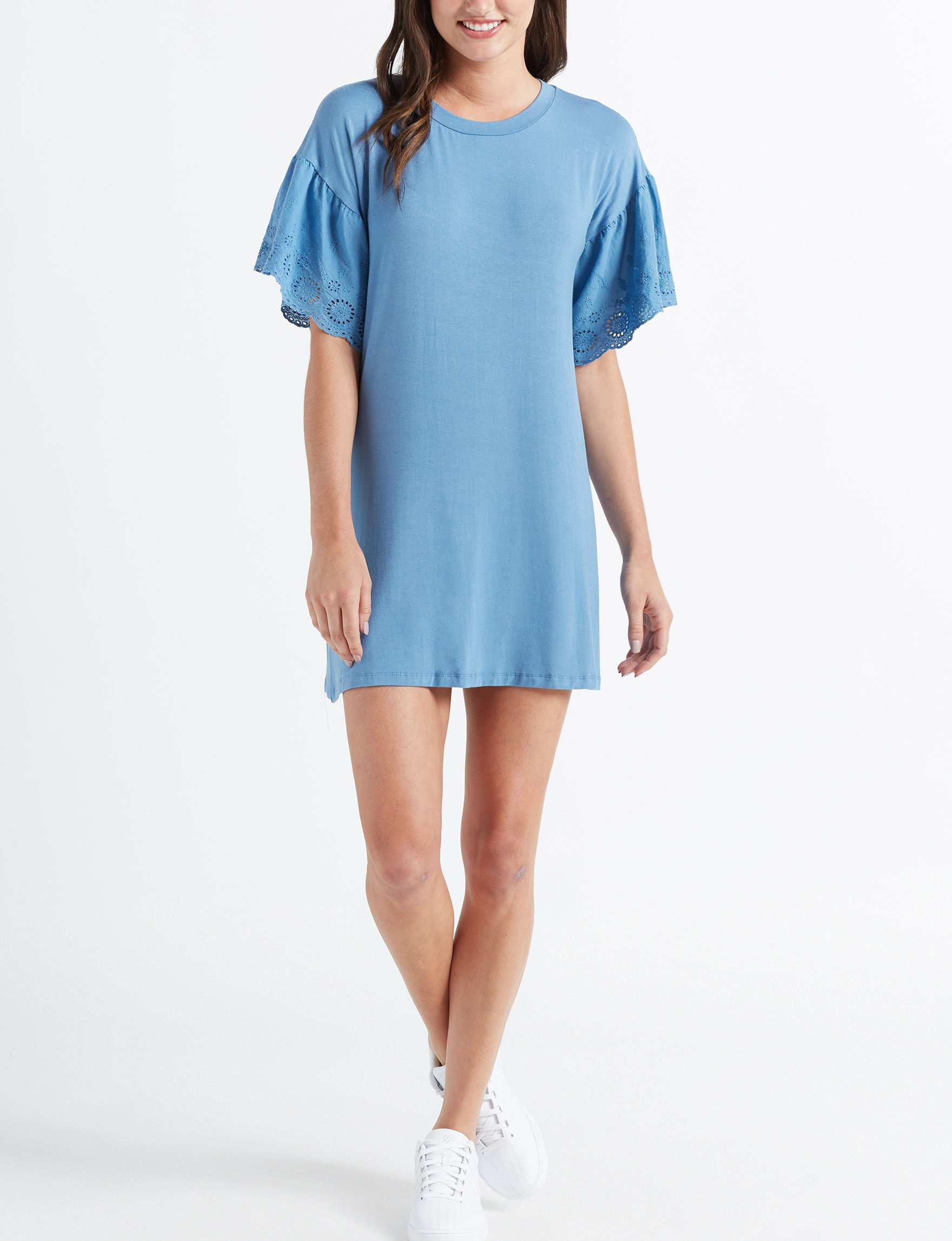 As U Wish Blue Everyday & Casual Shift Dresses