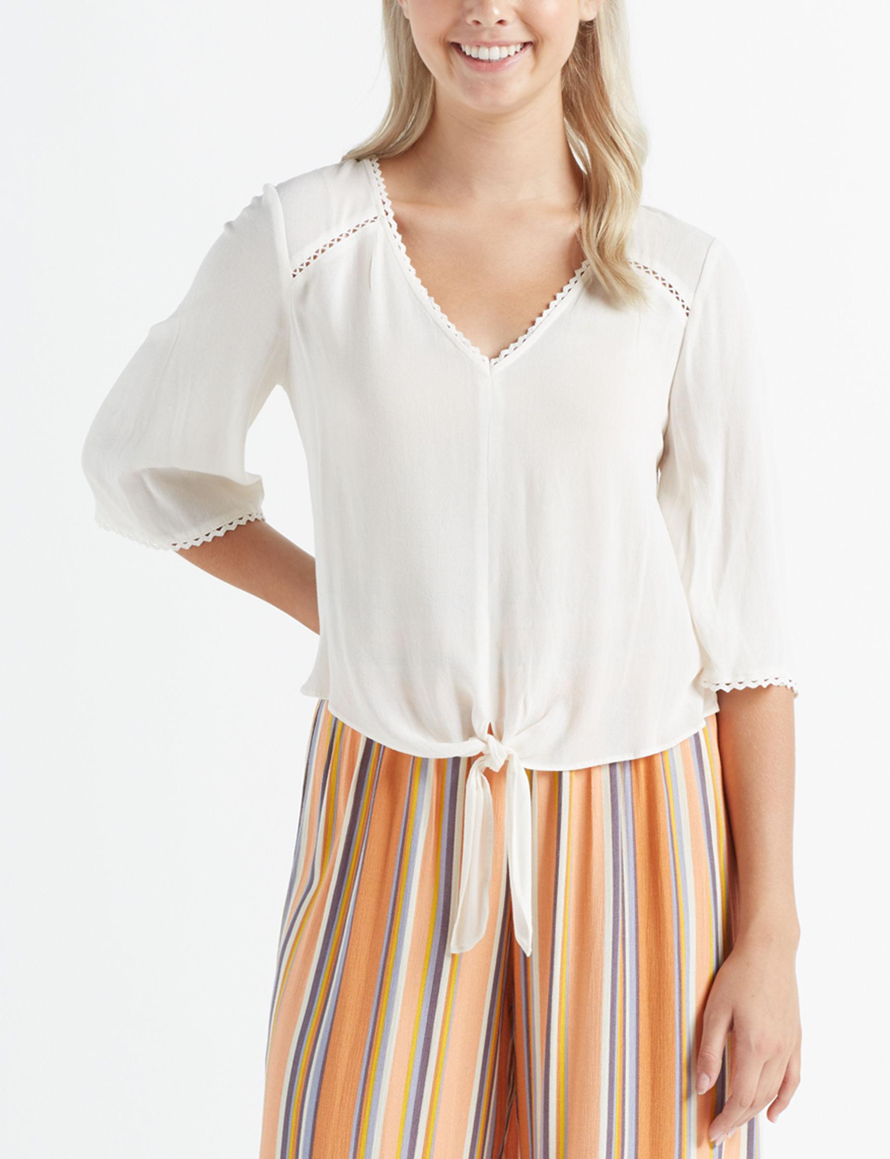 Leighton Ivory Shirts & Blouses
