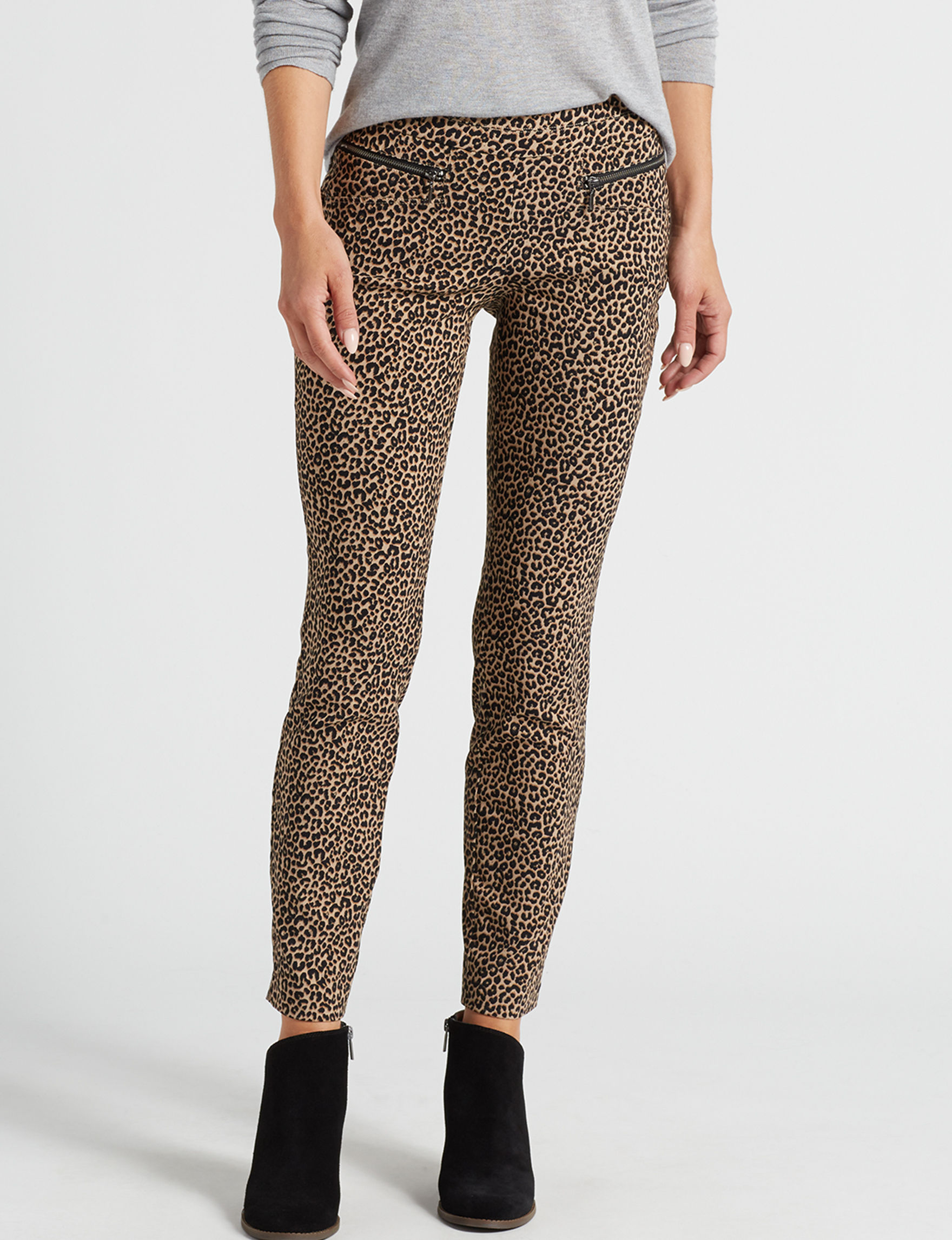 Leighton Leopard Skinny