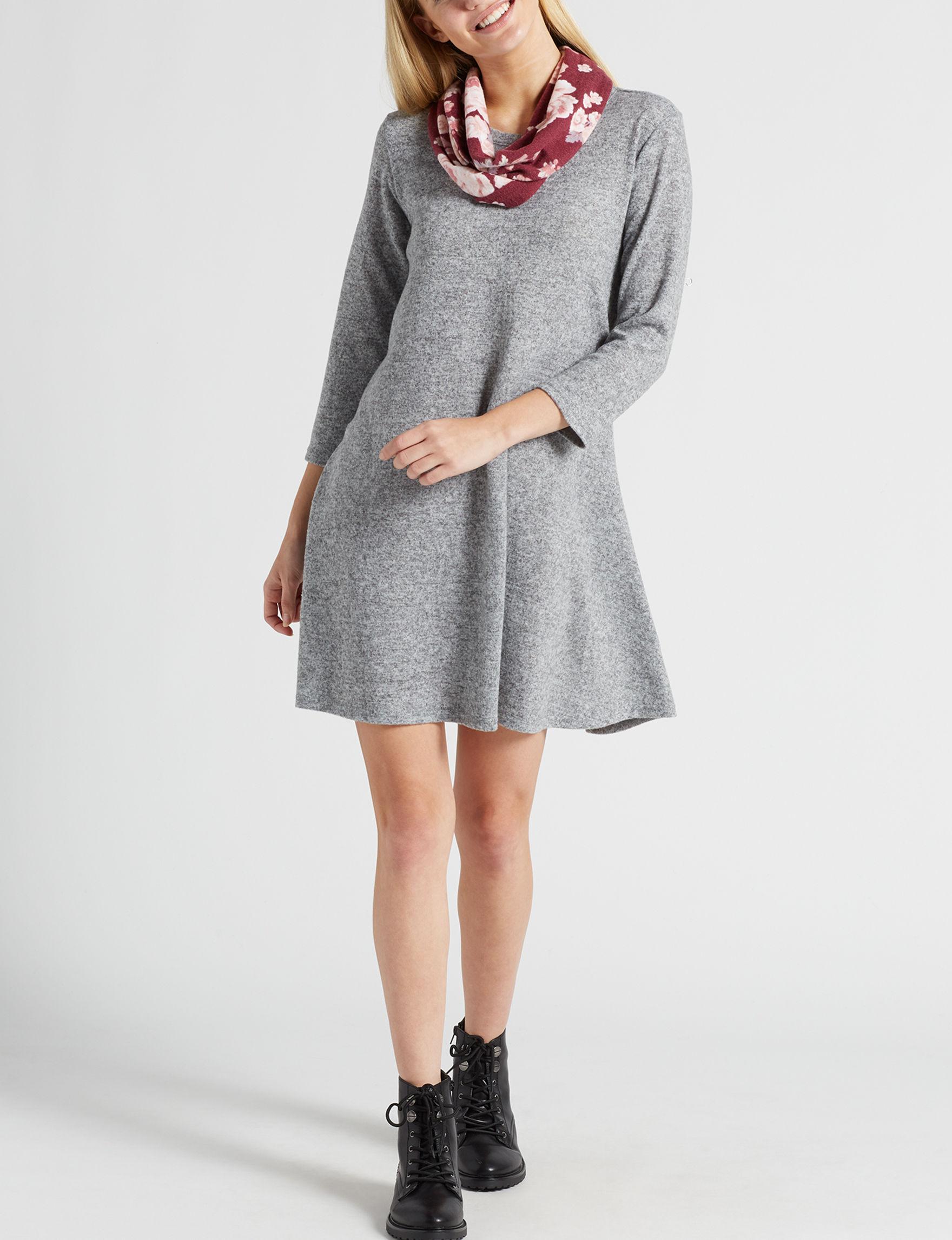 Wishful Park Grey Everyday & Casual Shift Dresses