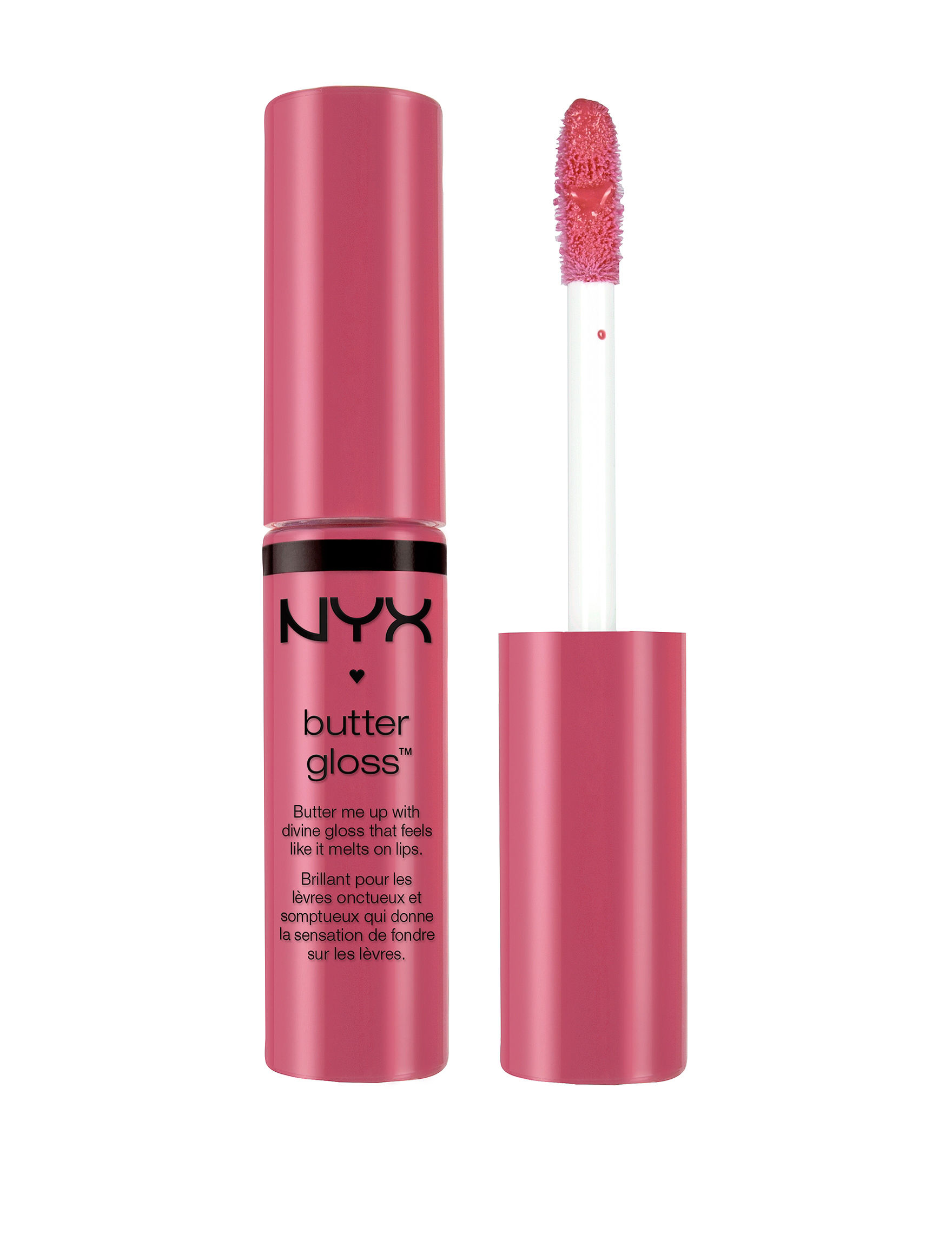 NYX Professional Makeup Strawberry Cheesecake Lips Lip Gloss
