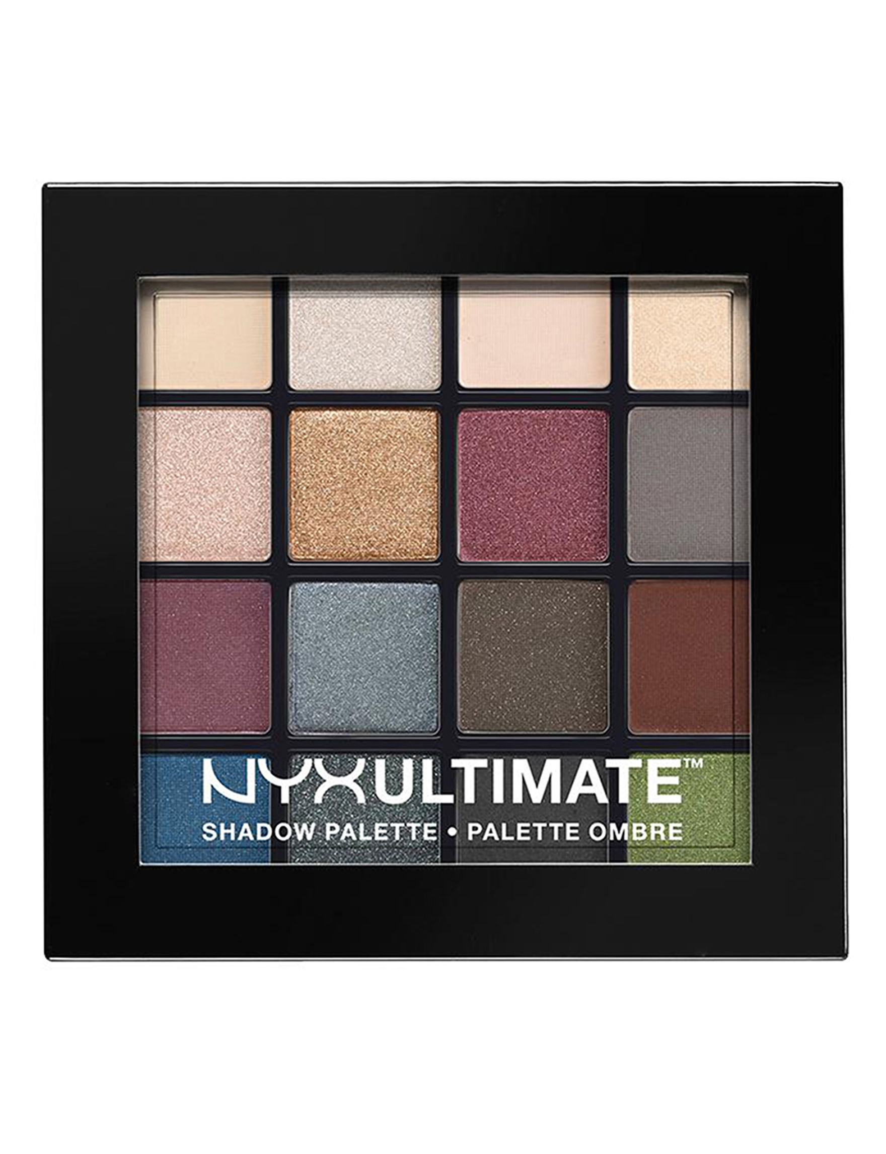 NYX Professional Makeup Smokey and Highlight Eyes Makeup Kits & Sets Eye Shadow
