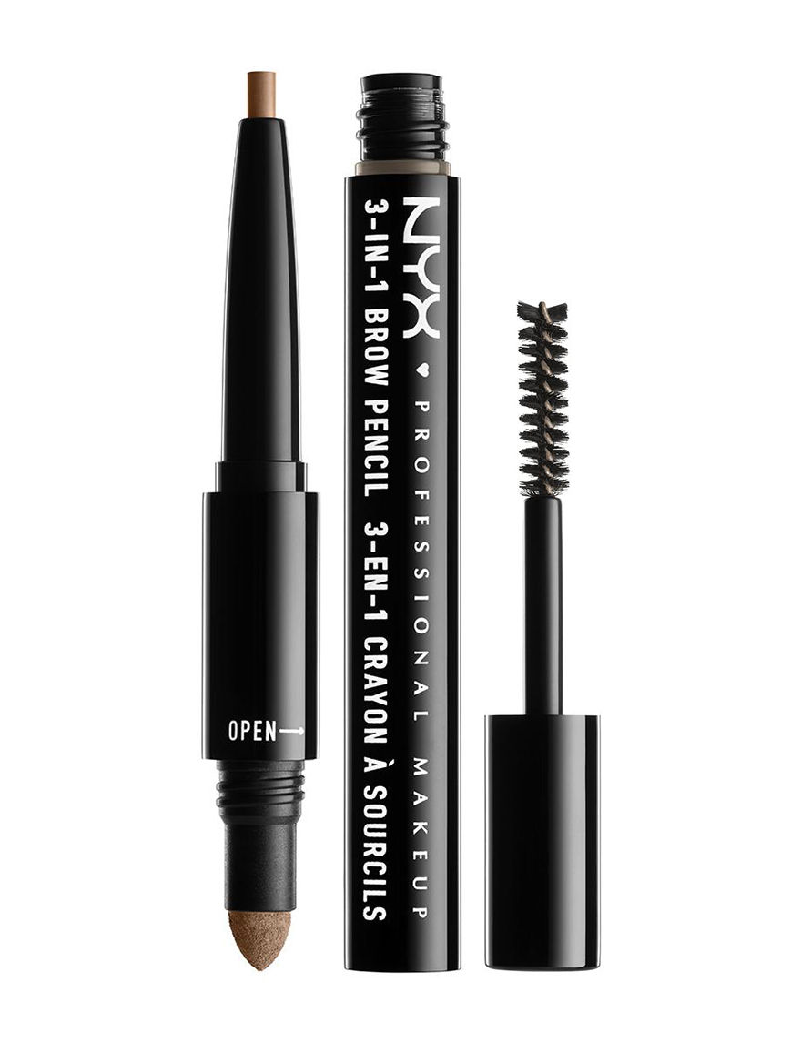 NYX Professional Makeup 3-in-1 Brow - Taupe - NYX Professional Makeup