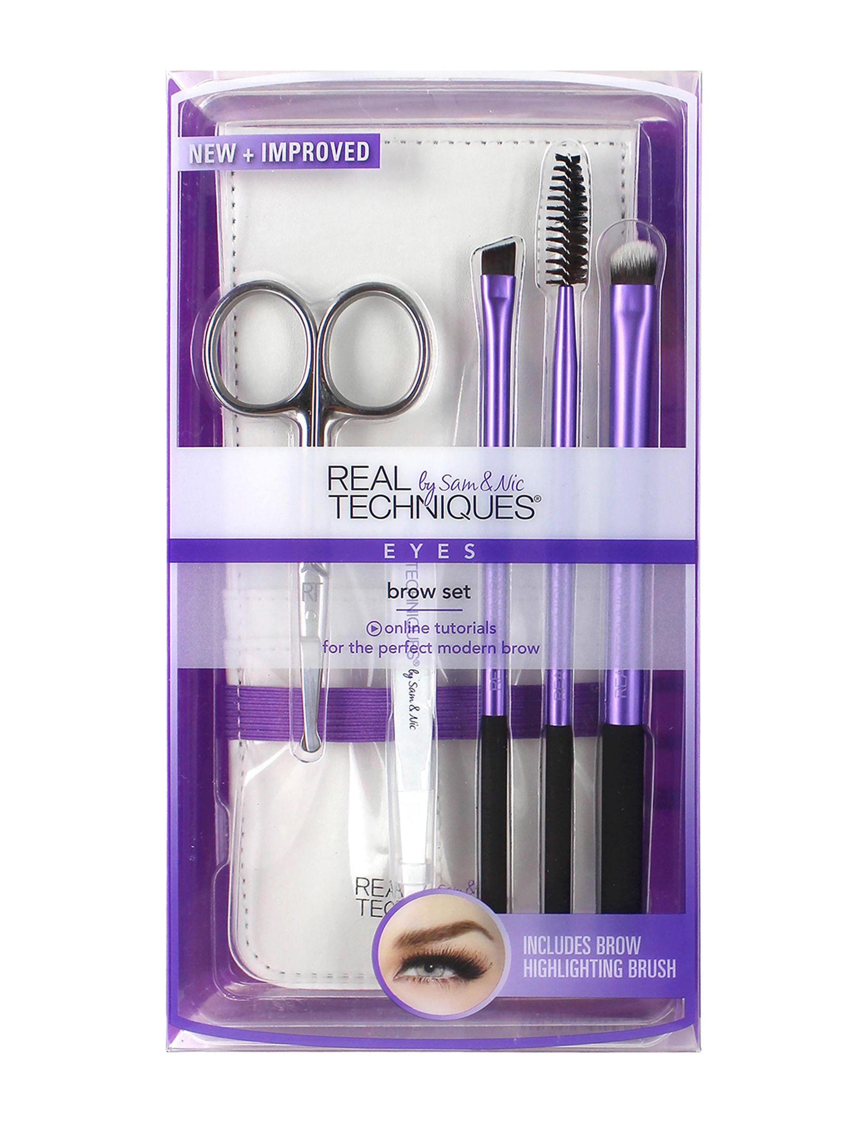 Real Techniques  Tools & Brushes Eyebrow & Eyelash Tools