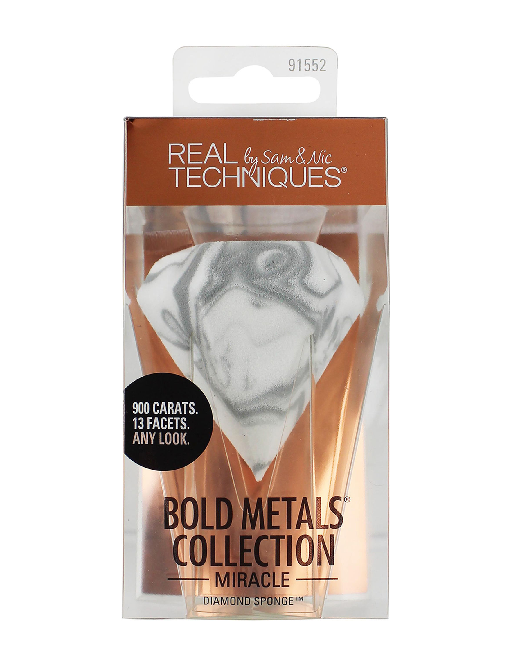 Real Techniques Clear Tools & Brushes