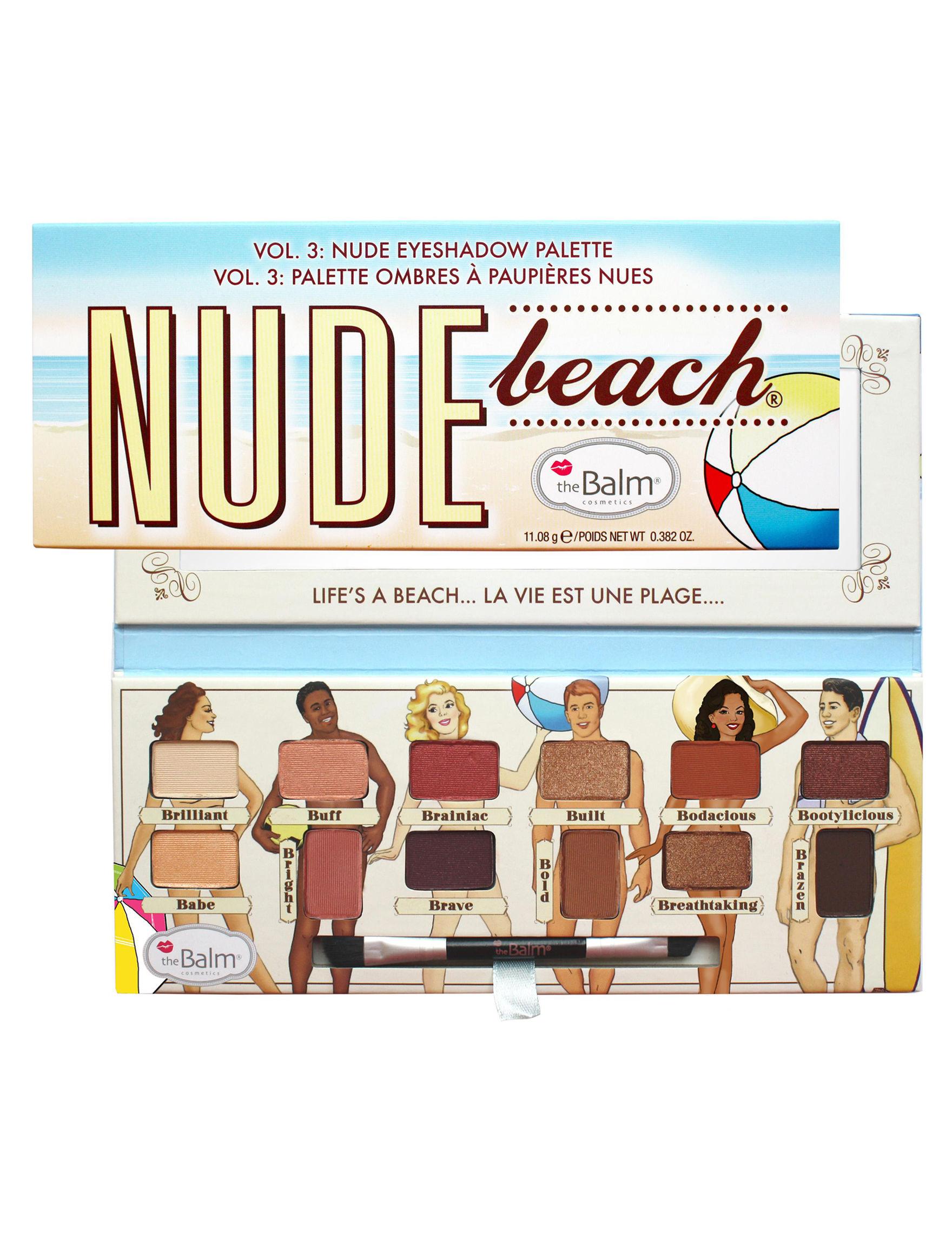 theBalm Cosmetics Nude Beach Eyes Sets & Palettes Eye Shadow