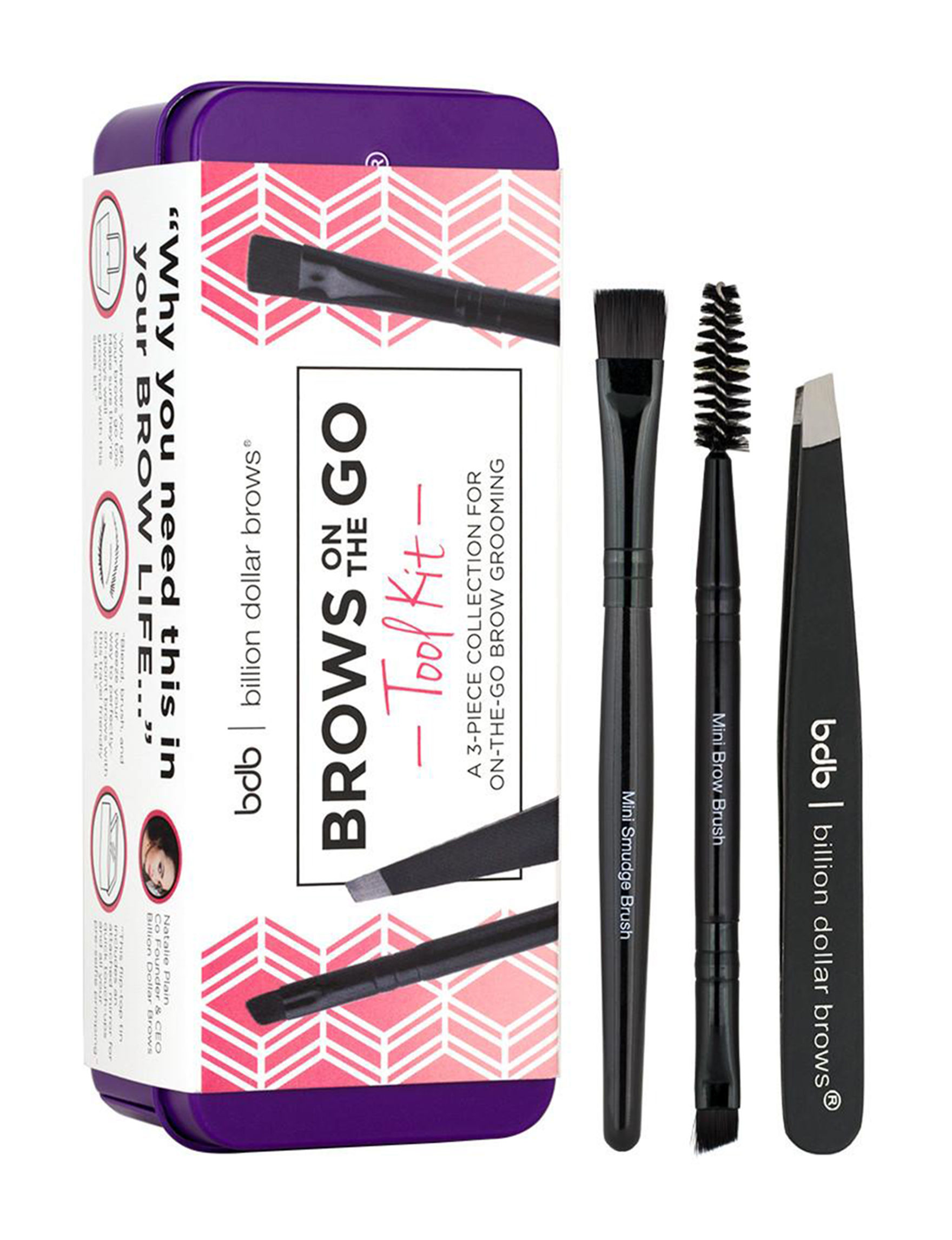 Billion Dollar Brows  Eyes Makeup Kits & Sets Tools & Brushes Brow