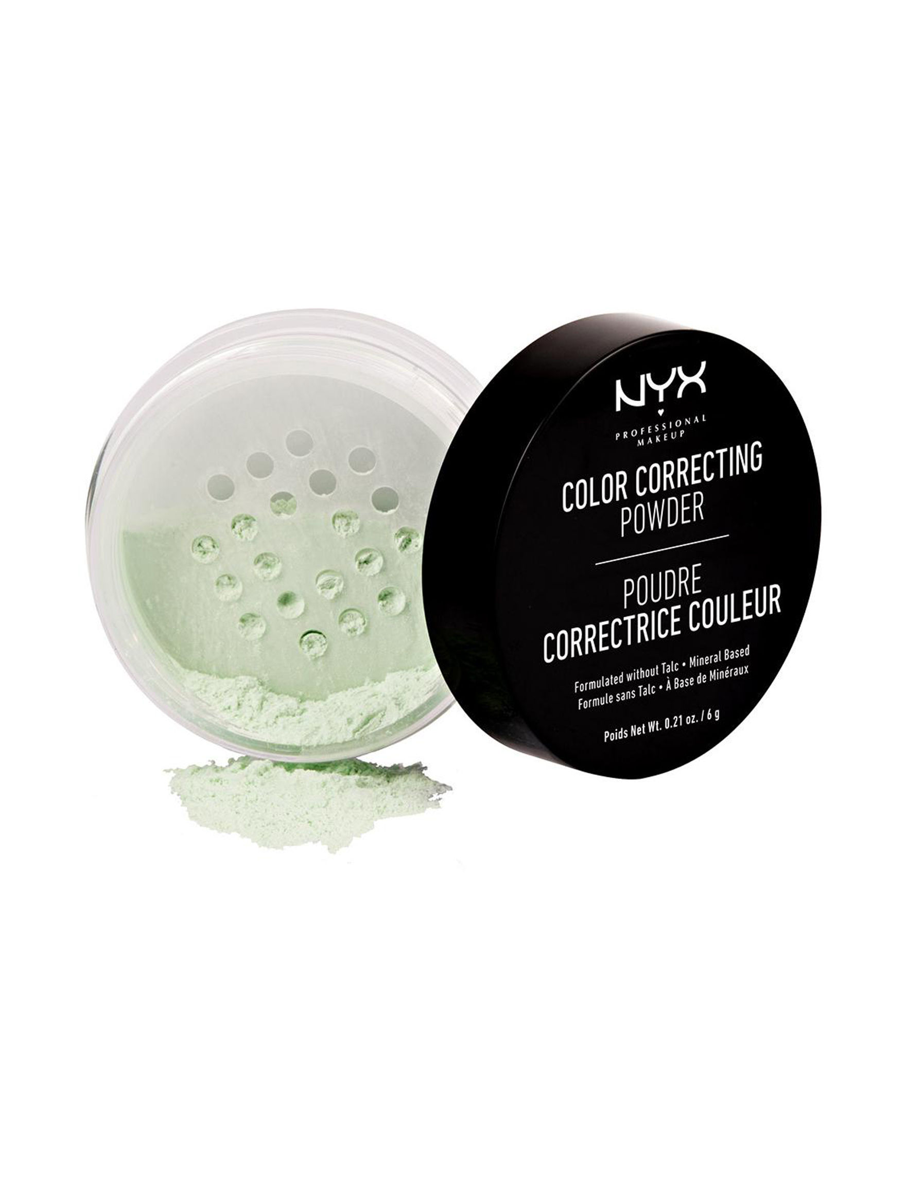 NYX Professional Makeup Green Face Powder