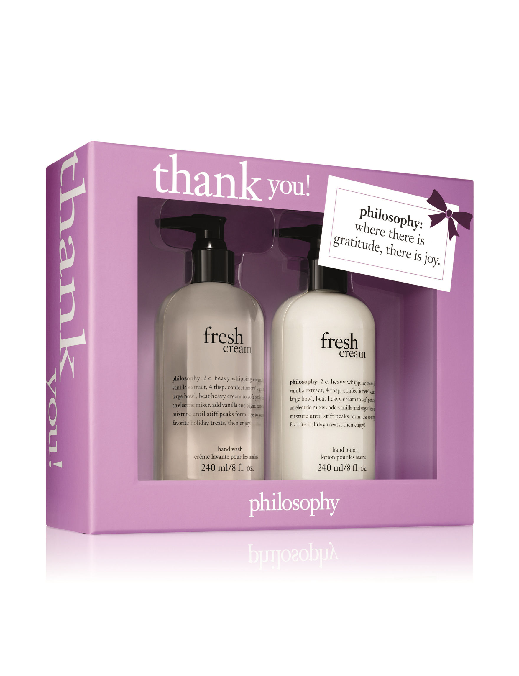 Philosophy pc thank you hand care duo gift set stage