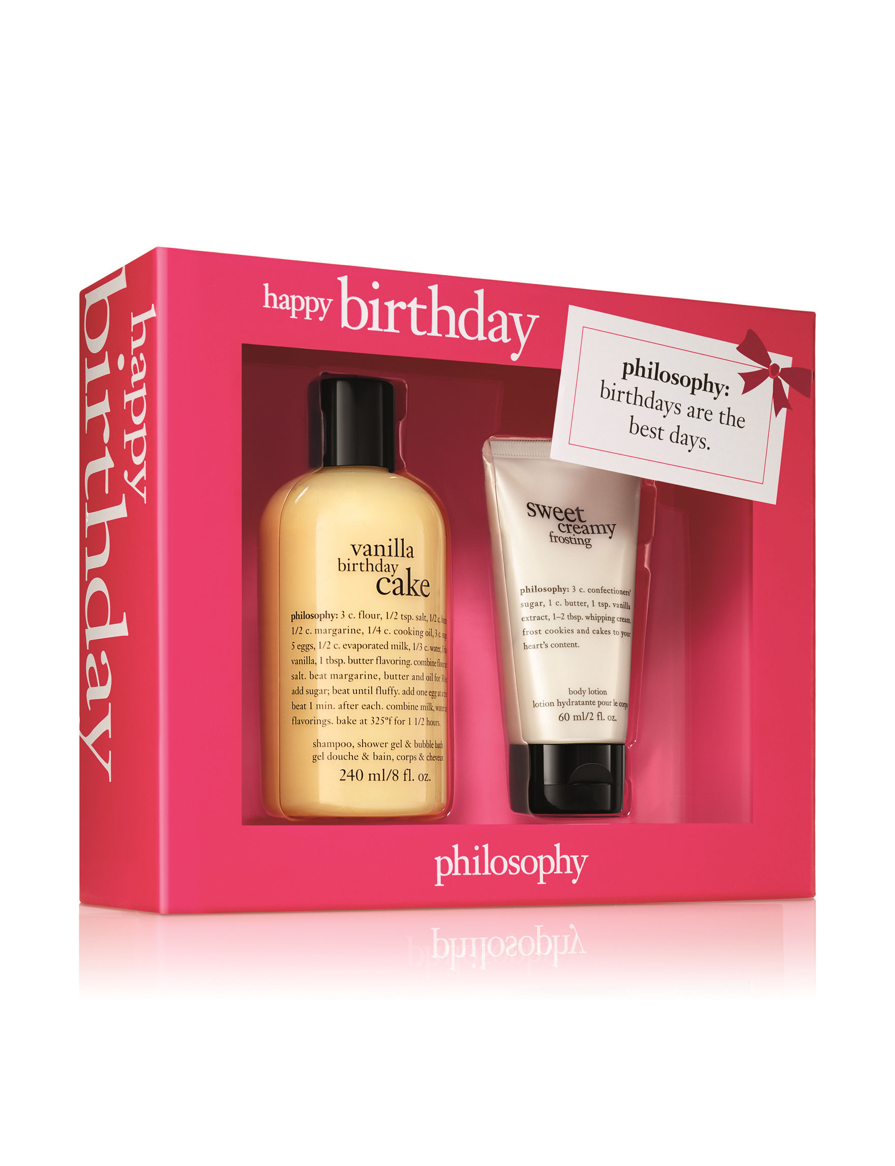 Philosophy 2 Pc Happy Birthday Bath Body Duo Set