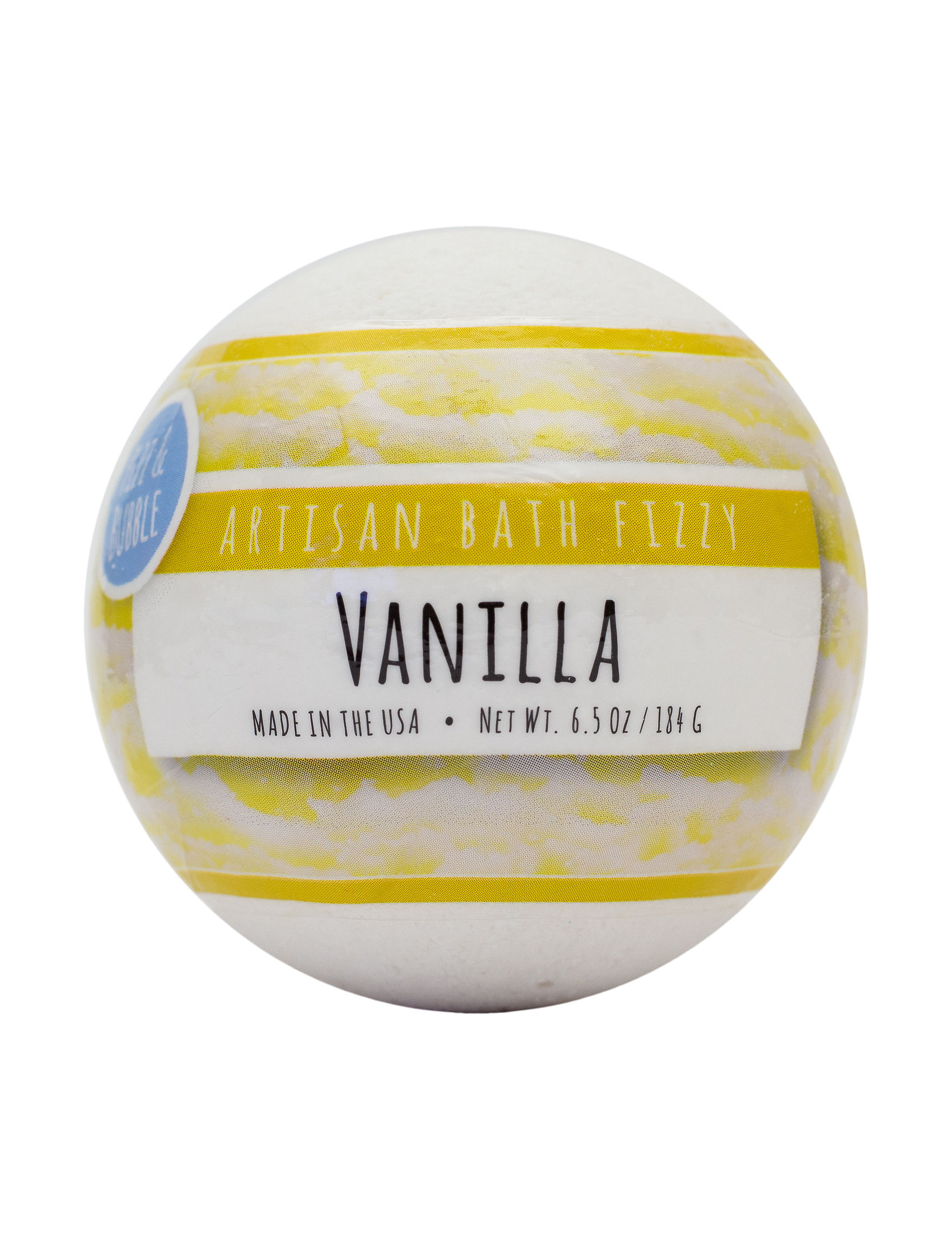Fizz & Bubbles Warm Vanilla Bath Soaks & Oils