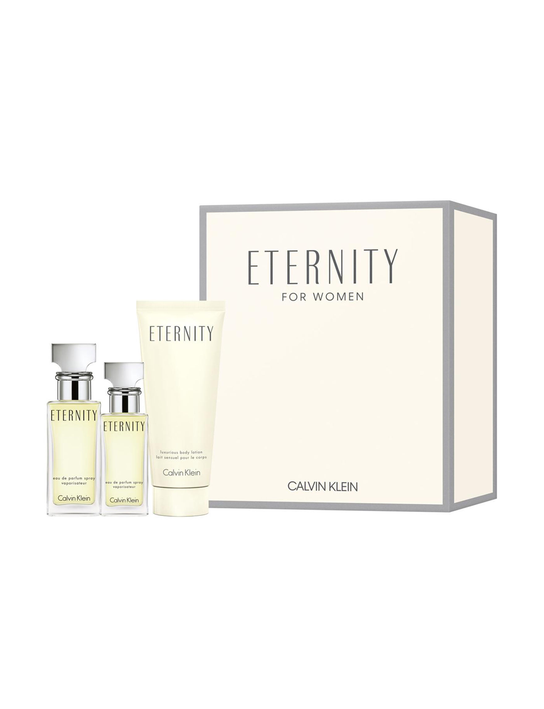 Calvin Klein Eternity 3 Pc Eternity Gift Set A 100 Value Stage