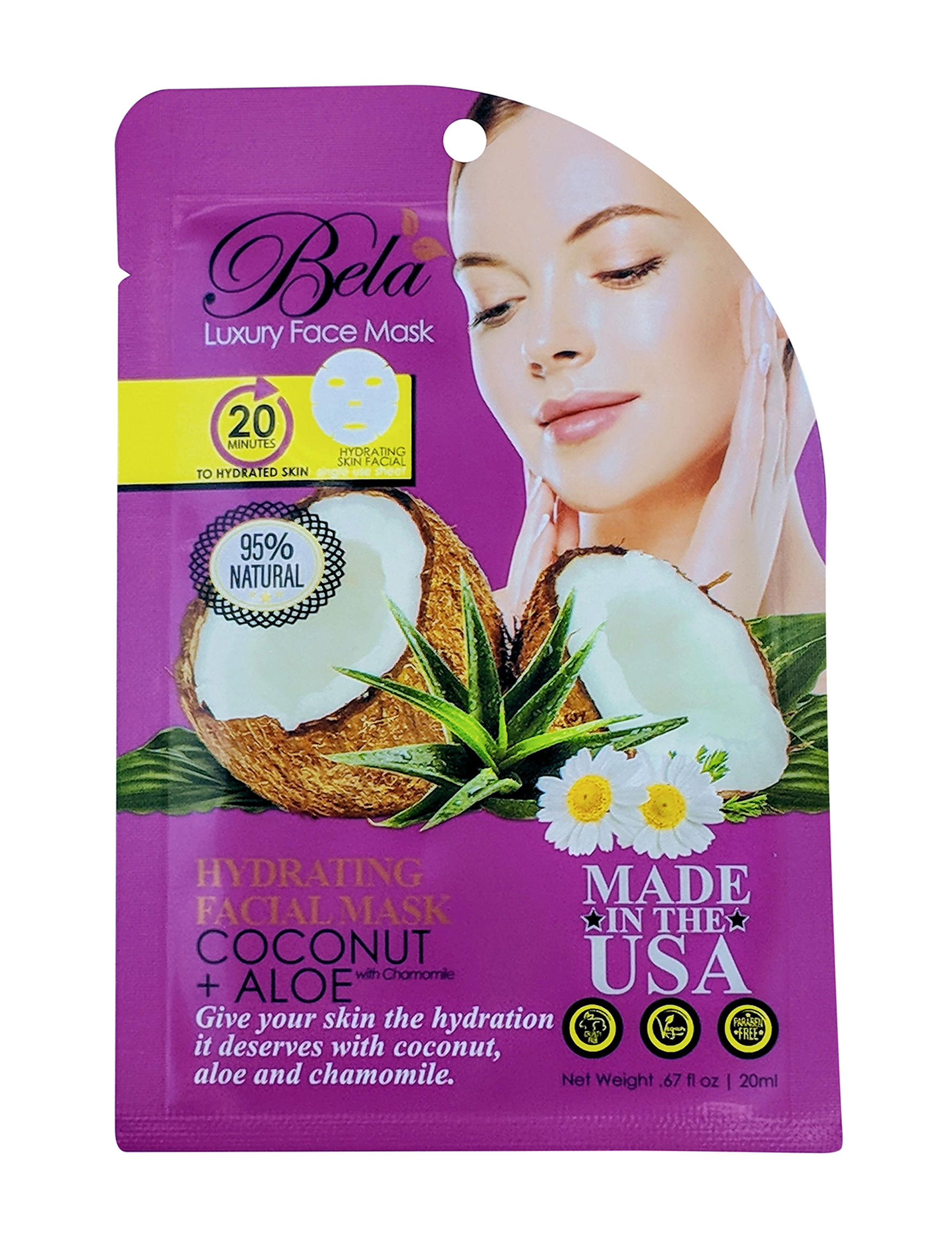 Bela  Masks Travel Size