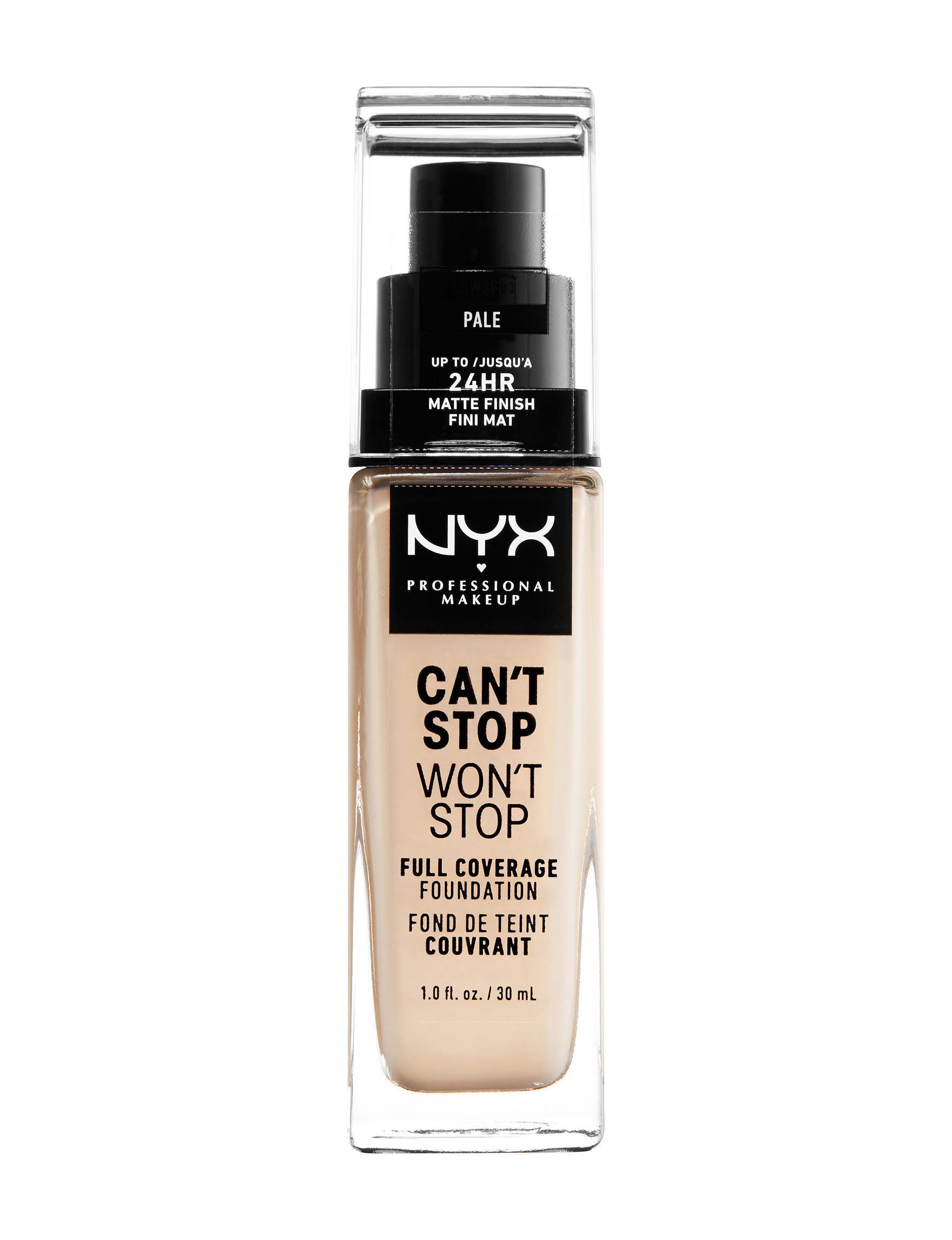 NYX Professional Makeup Pale Face Foundation