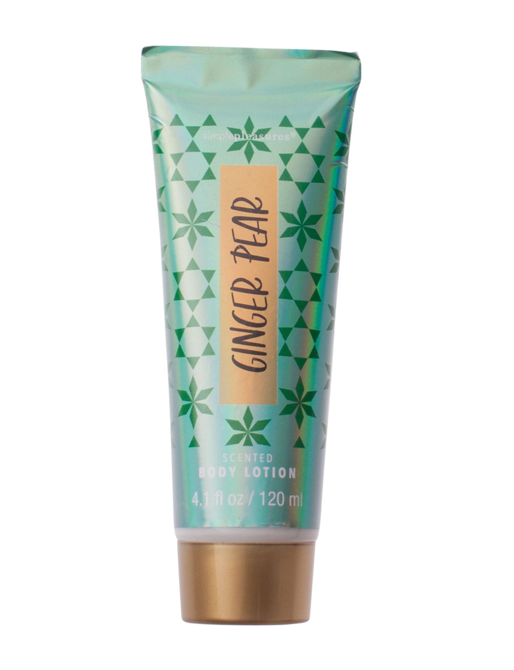 Simple Pleasures Green Body Cream & Lotions