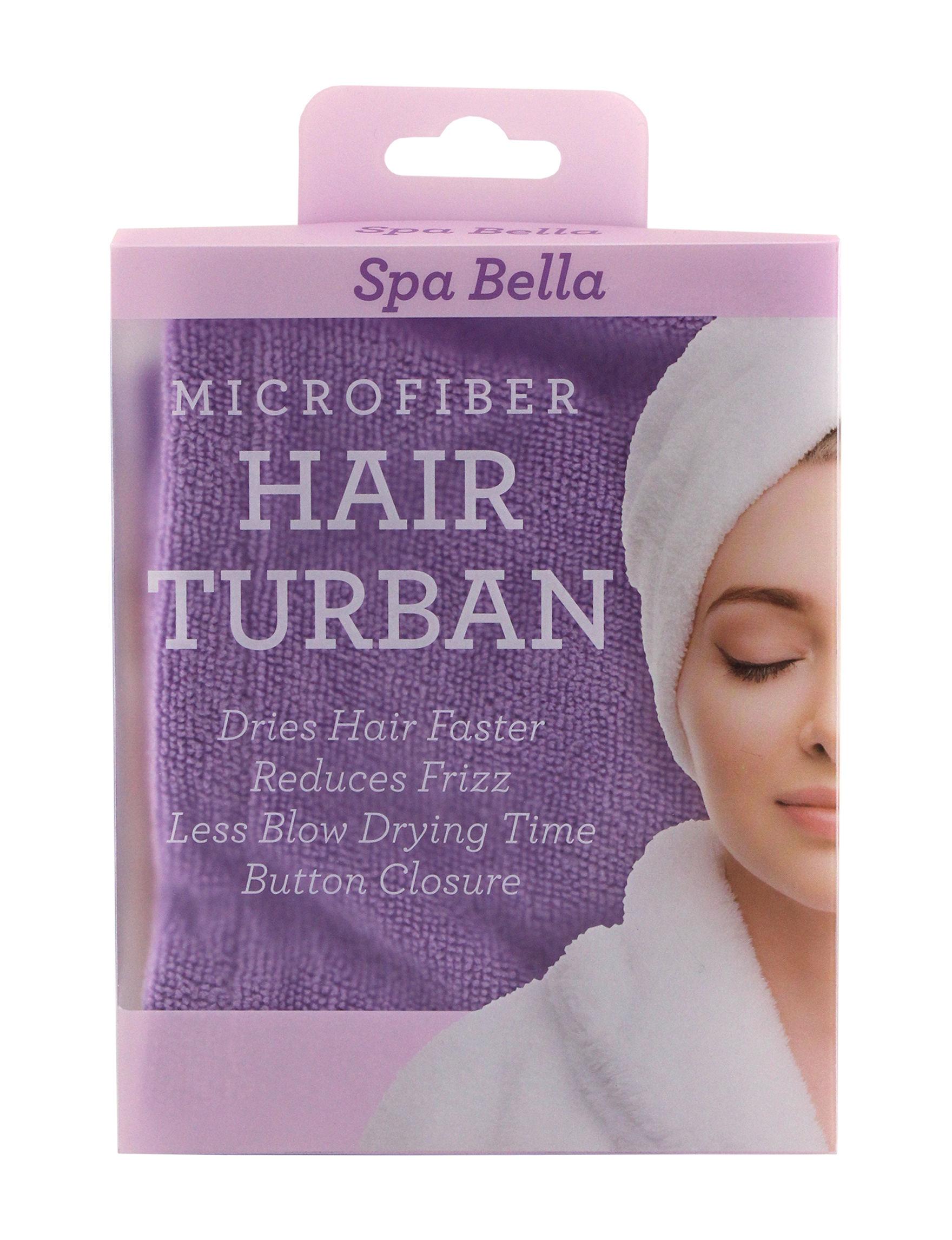 Spa Bella Purple Bath & Body Accessories Hairstyling Tools