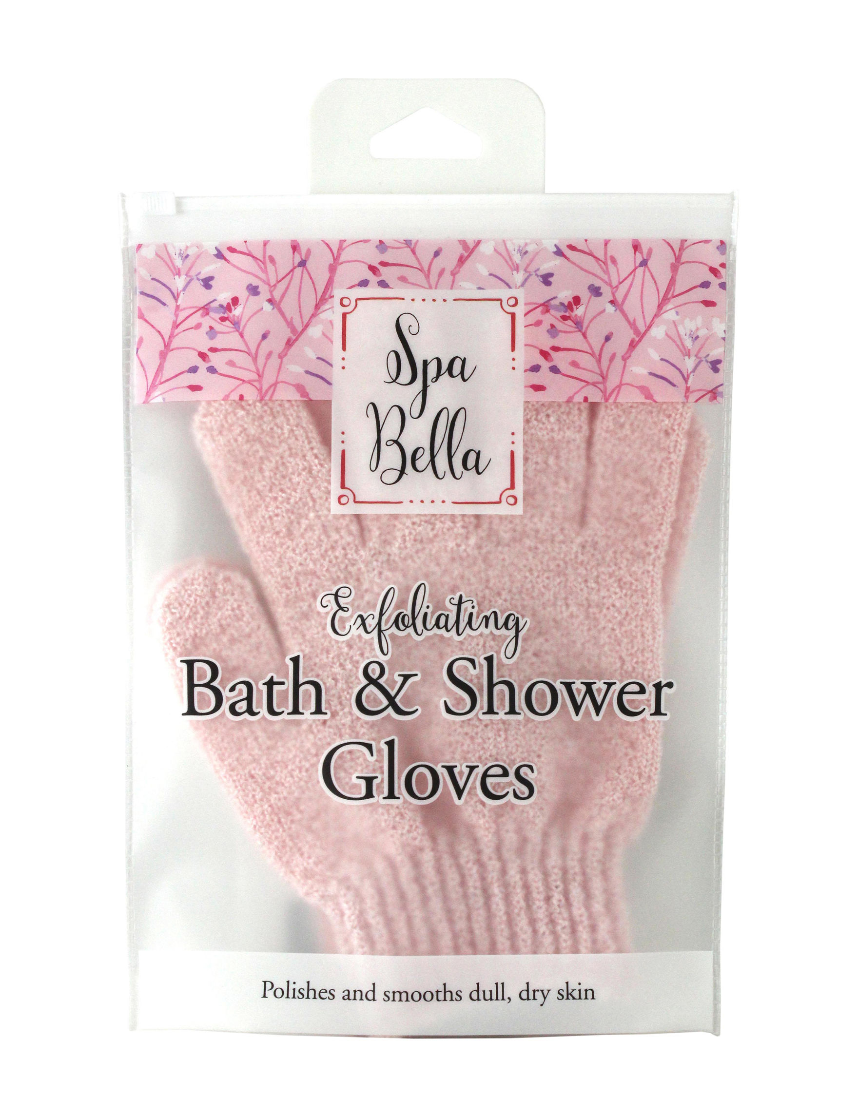 Spa Bella Pink Bath & Body Accessories