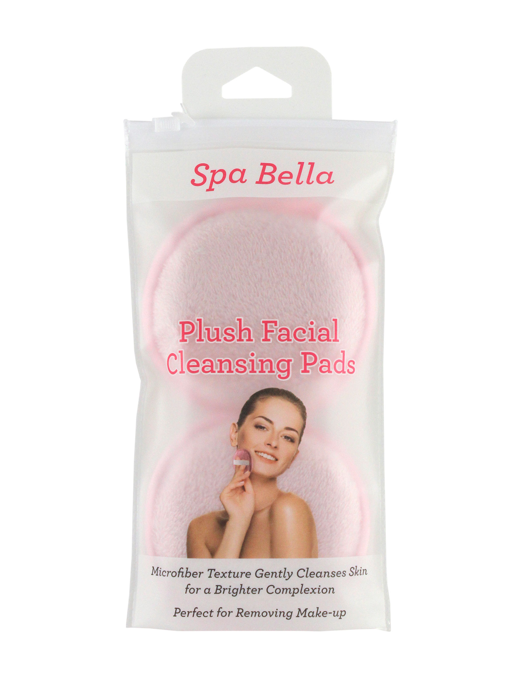 Spa Bella Pink Bath & Body Accessories Face Tools & Brushes