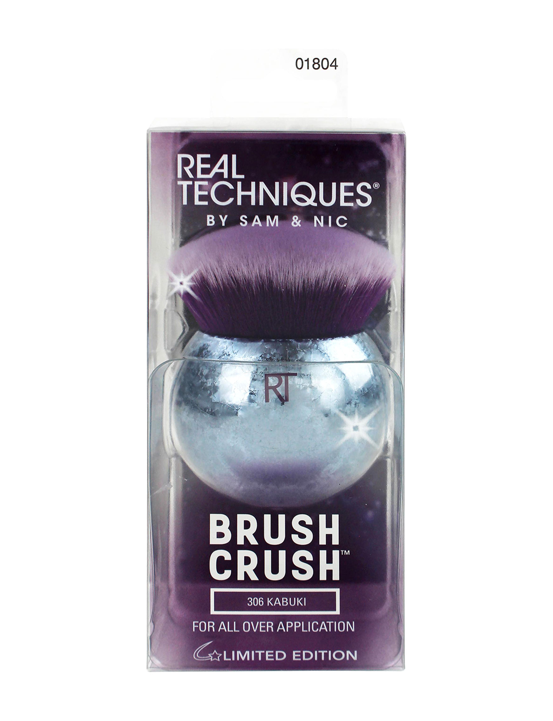 Real Techniques Silver / Purple Tools & Brushes Bronzer Brush Powder Brush