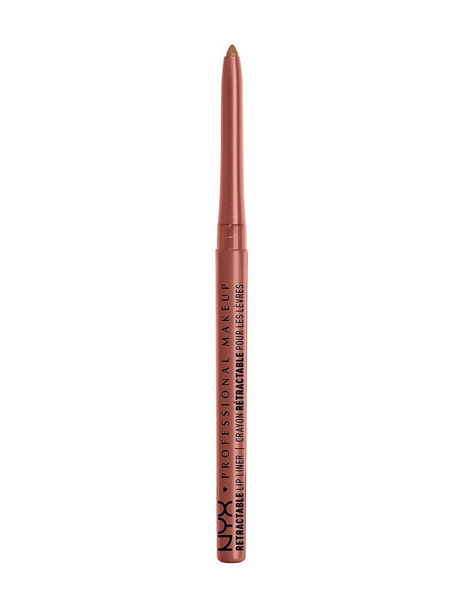 NYX Professional Makeup Sand Beige Lip Care Lips Lip Liner
