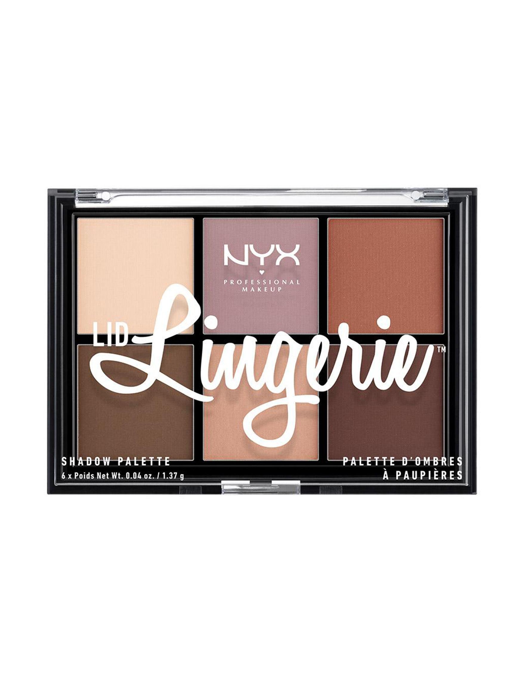 NYX Professional Makeup Brown / Multi Eyes Sets & Palettes Eye Shadow
