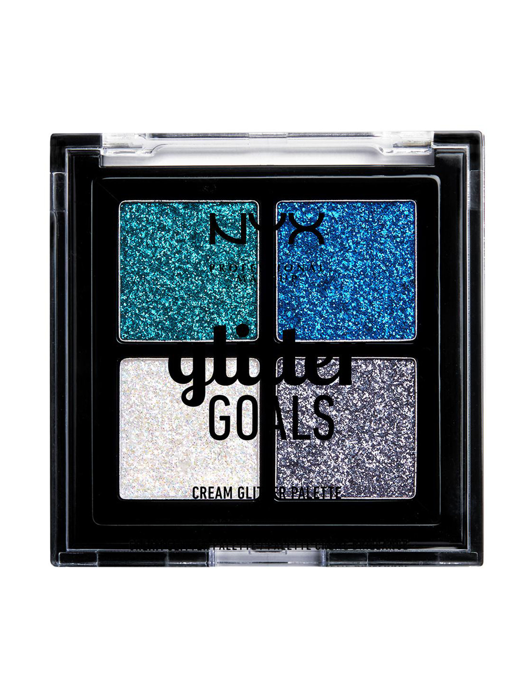 NYX Professional Makeup Glacier Eyes Face Sets & Palettes Eye Shadow