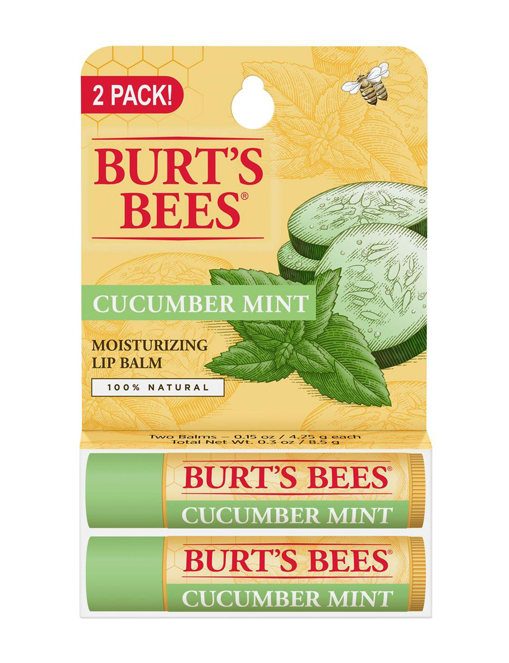 Burt's Bees  Lip Care Lips Moisturizers Travel Size Lip Balm