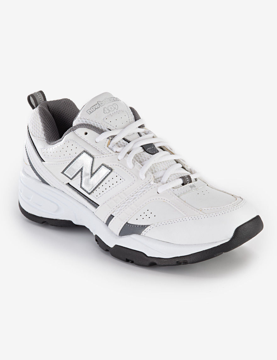 competitive price 697c1 daaa4 ... UPC 886863806085 product image for New Balance 409 Cross Trainer - Men s  - White - 8 ...