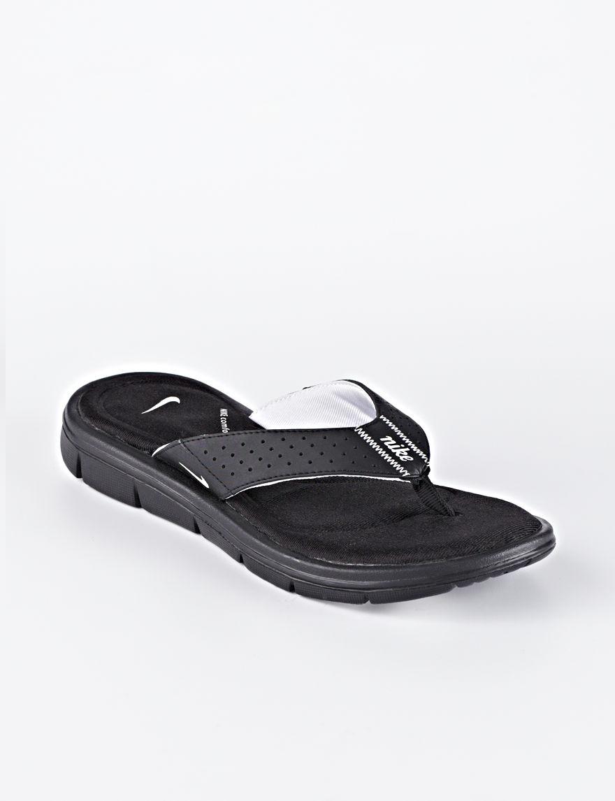 1680666c03ac UPC 887229761741 product image for Nike Comfort Womens Thong - White - 10 -  Nike ...